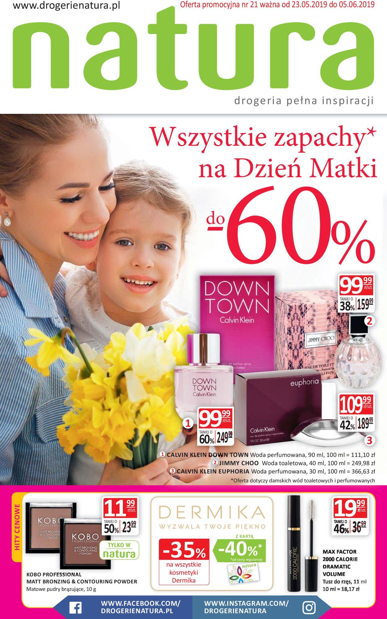 Gazetka promocyjna Natura - 23.05-05.06.2019