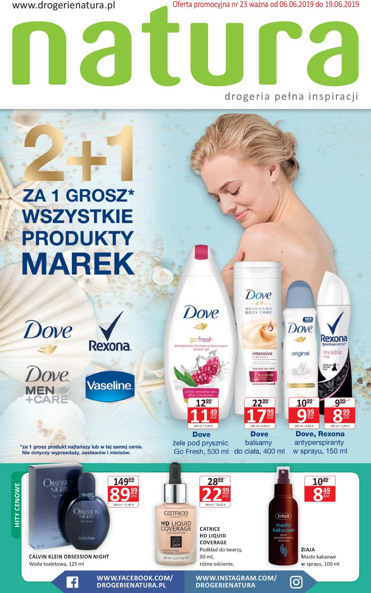 Gazetka promocyjna Natura - 06.06-19.06.2019