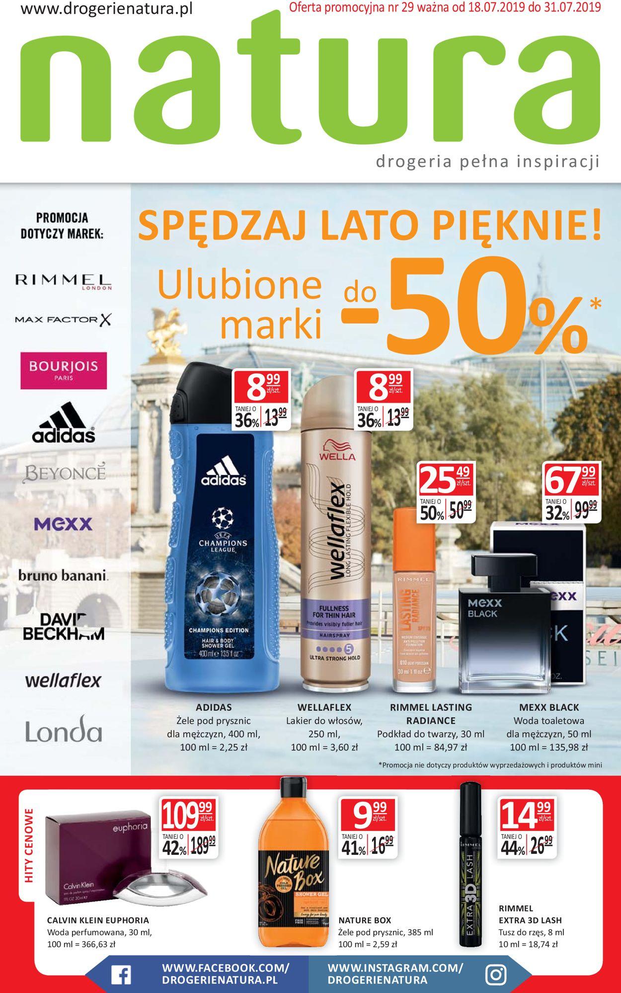 Gazetka promocyjna Natura - 18.07-31.07.2019