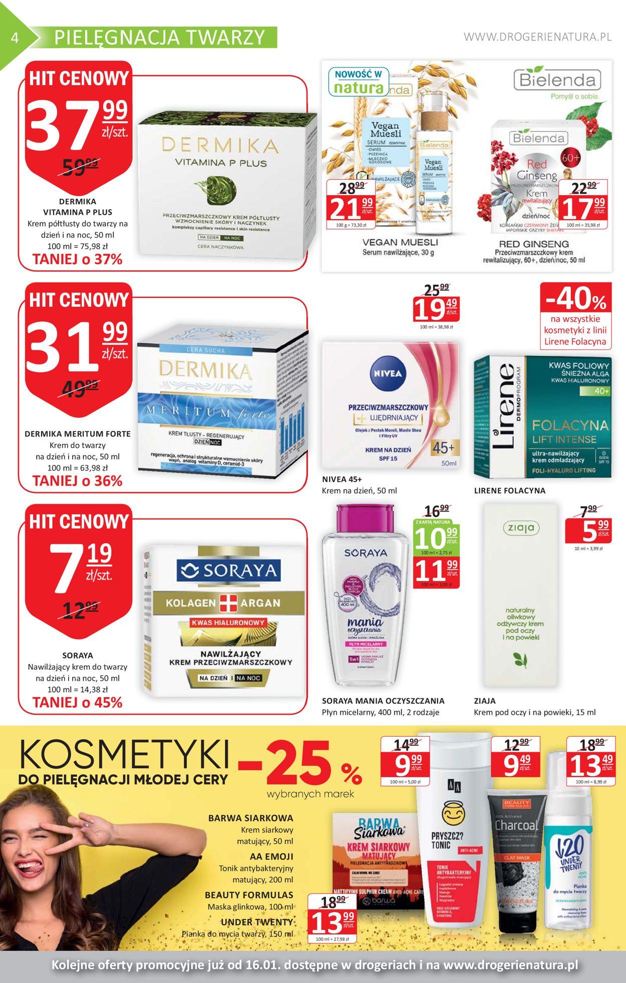 Gazetka promocyjna Natura - 28.12-15.01.2020 (Strona 4)