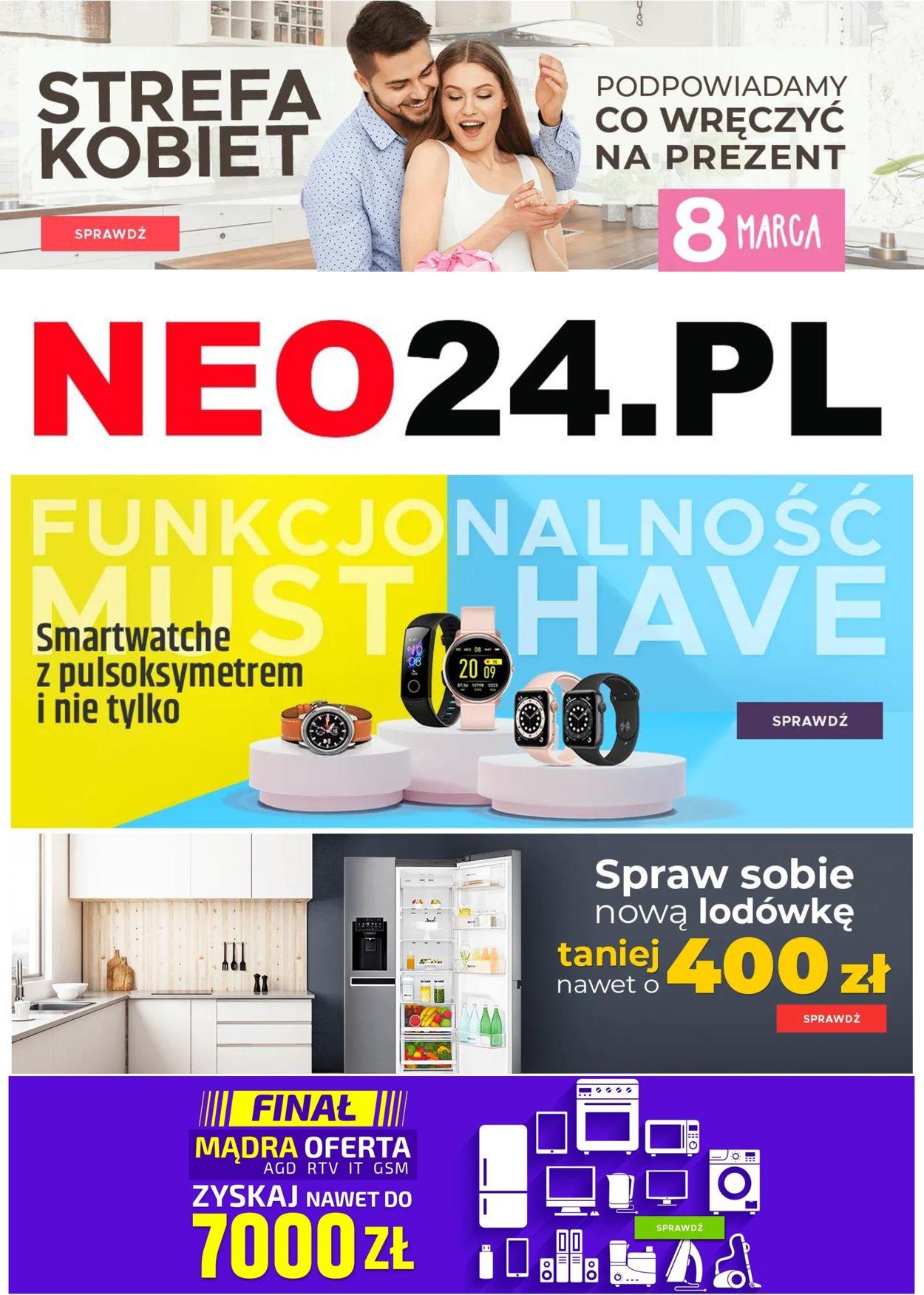 Gazetka promocyjna NEO24.PL - 02.03-08.03.2021