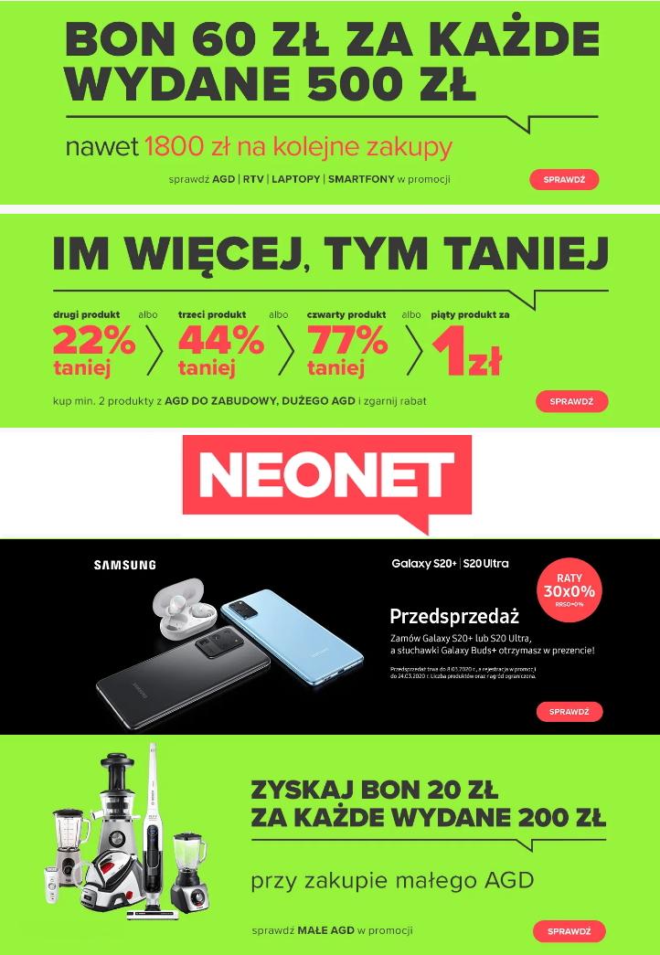 Gazetka promocyjna Neonet - 17.02-24.02.2020
