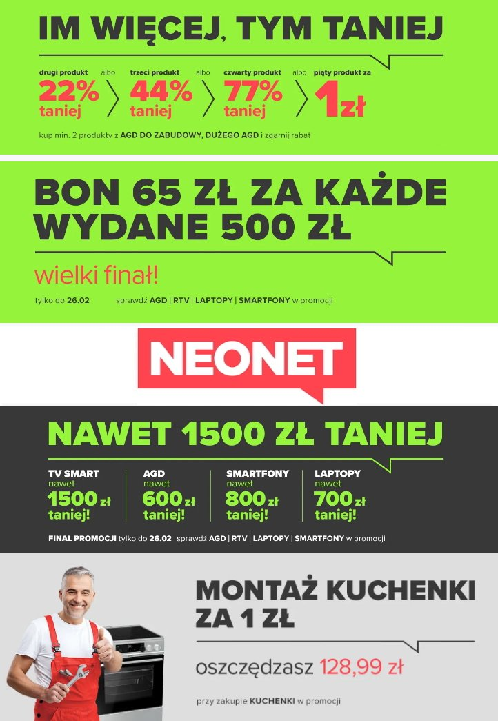 Gazetka promocyjna Neonet - 24.02-02.03.2020