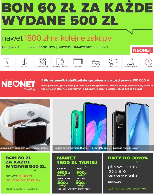 Gazetka promocyjna Neonet - 14.05-21.05.2020
