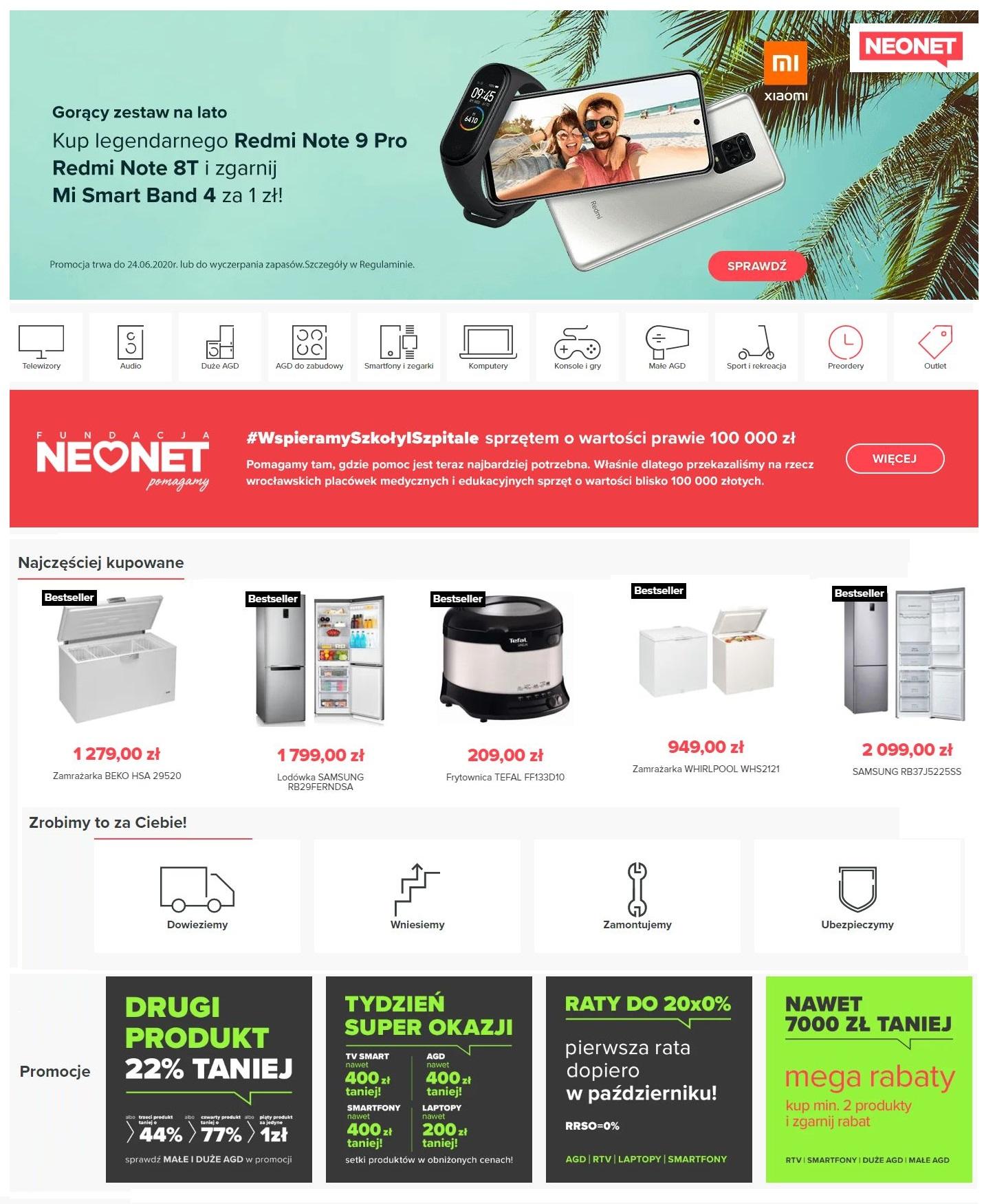 Gazetka promocyjna Neonet - 06.06-12.06.2020