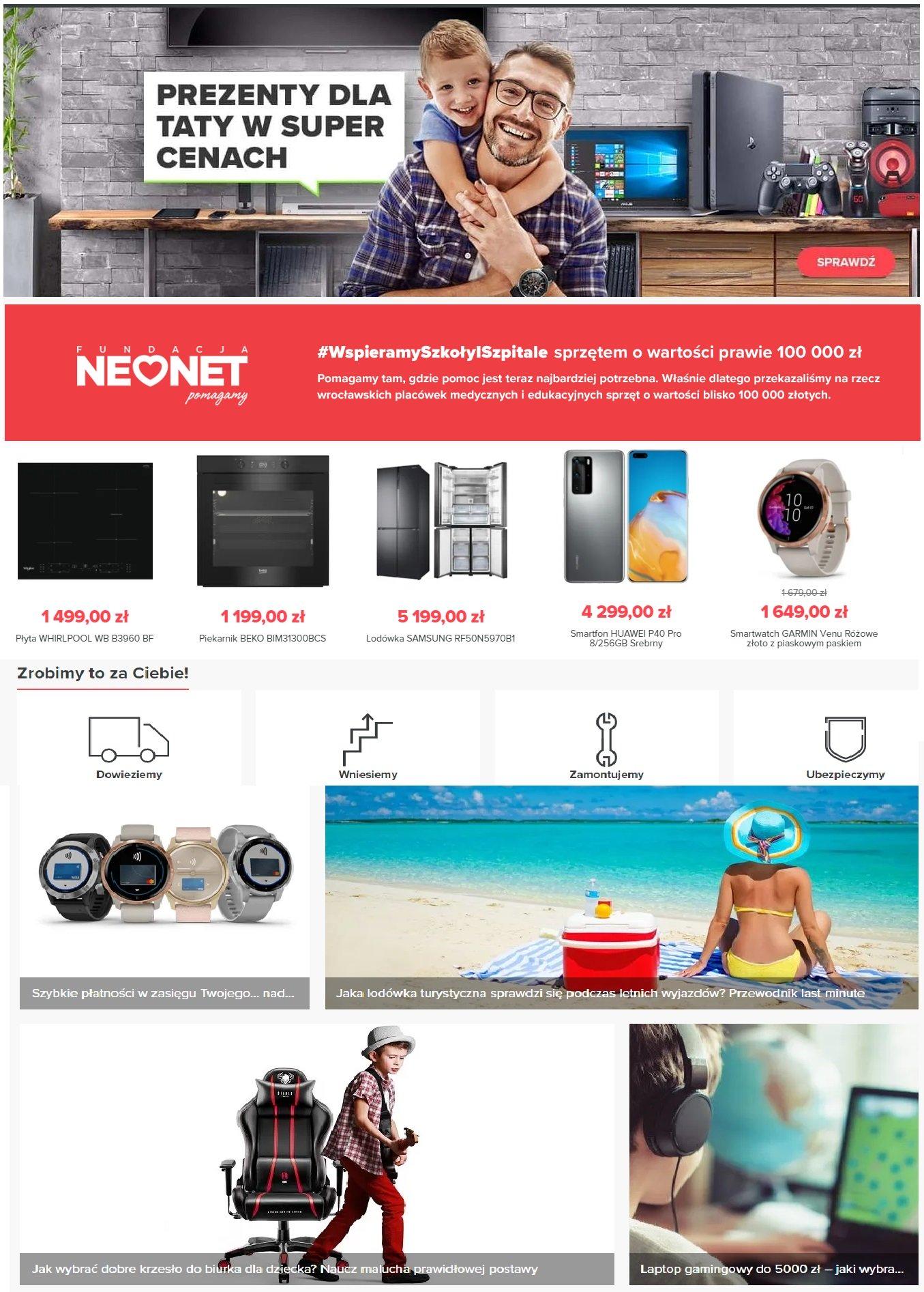 Gazetka promocyjna Neonet - 19.06-23.06.2020