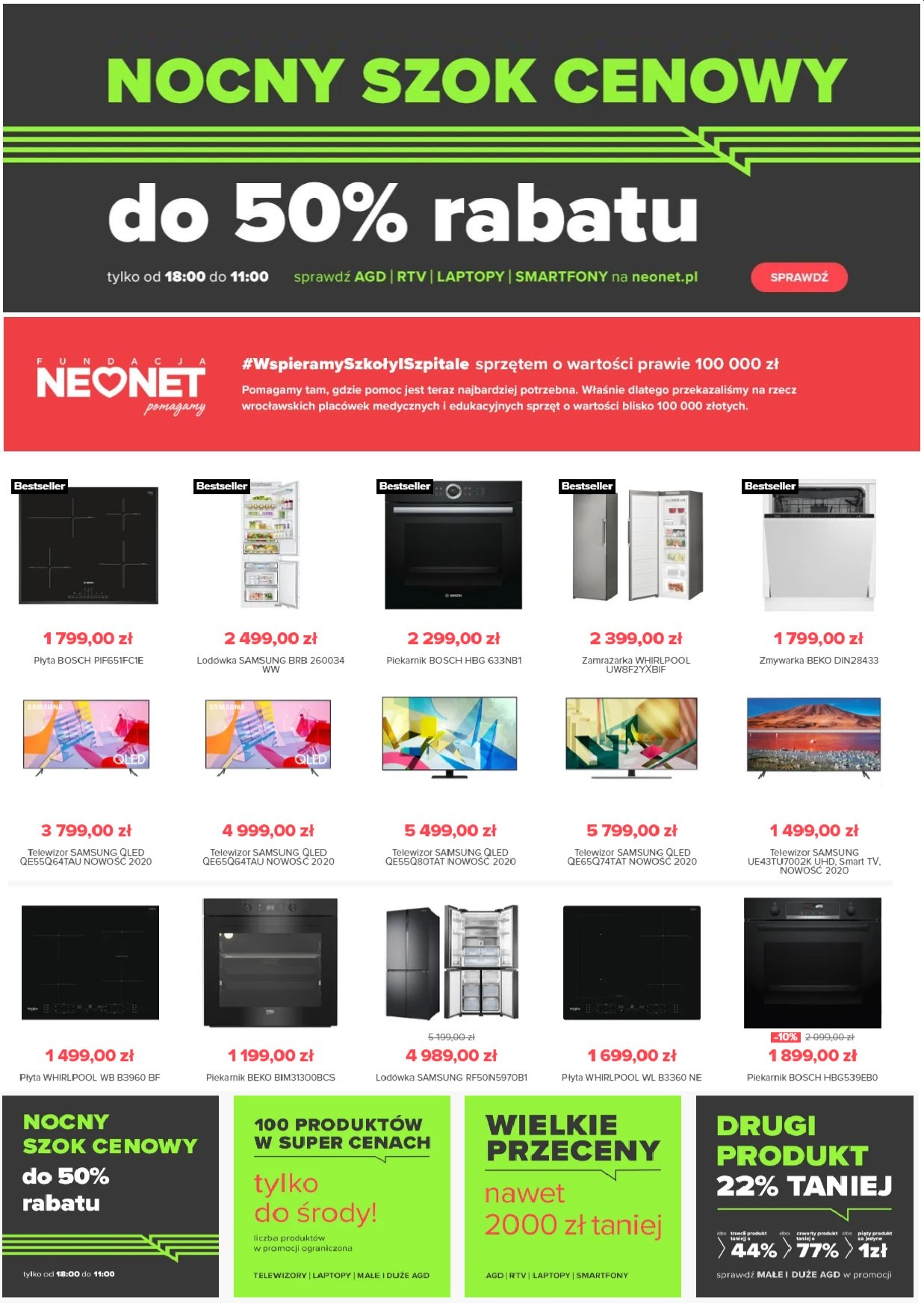 Gazetka promocyjna Neonet - 04.07-10.07.2020