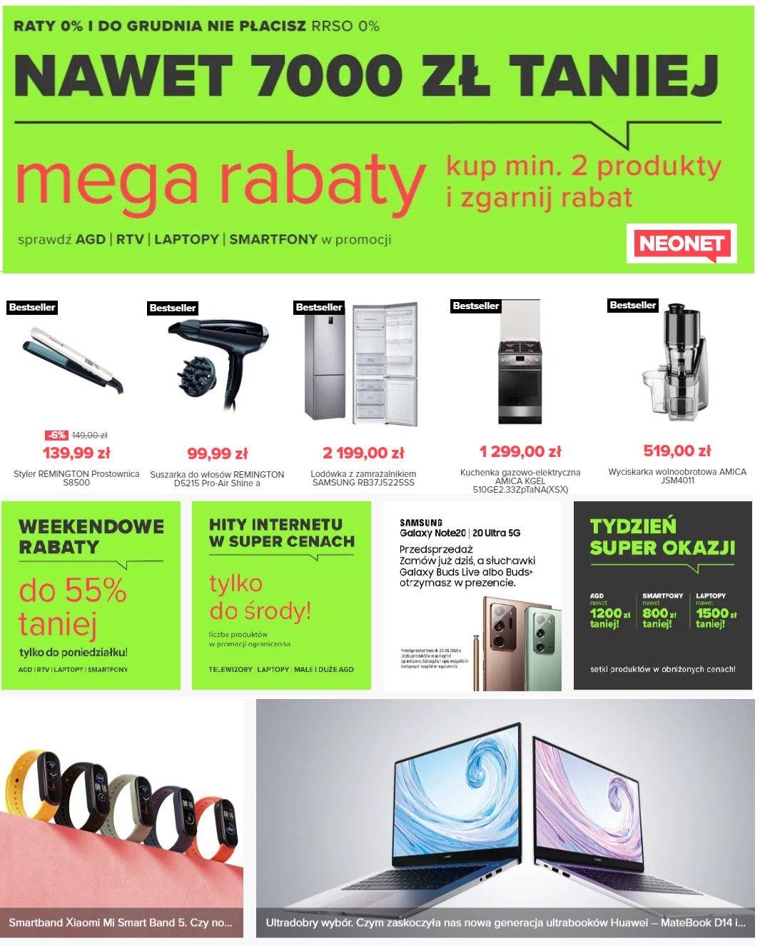 Gazetka promocyjna Neonet - 08.08-14.08.2020
