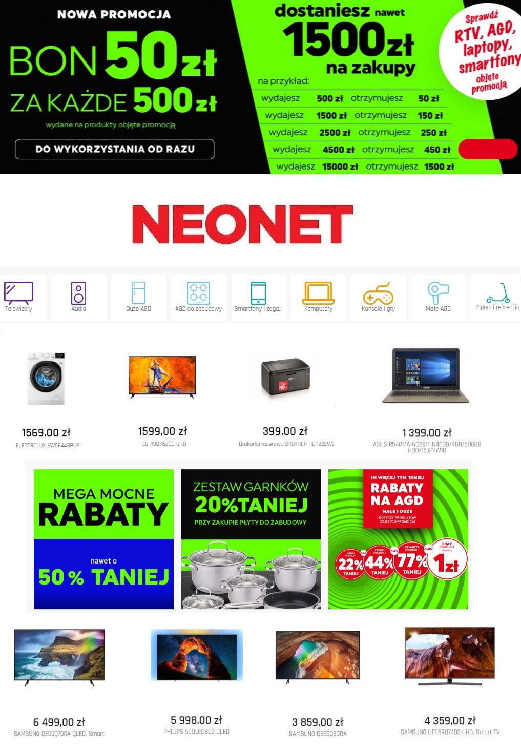 Gazetka promocyjna Neonet - 28.06-04.07.2019