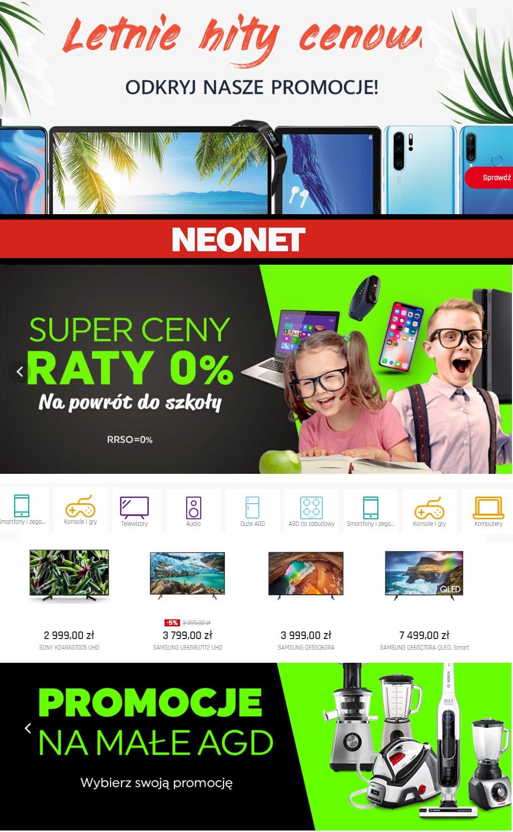 Gazetka promocyjna Neonet - 22.08-28.08.2019