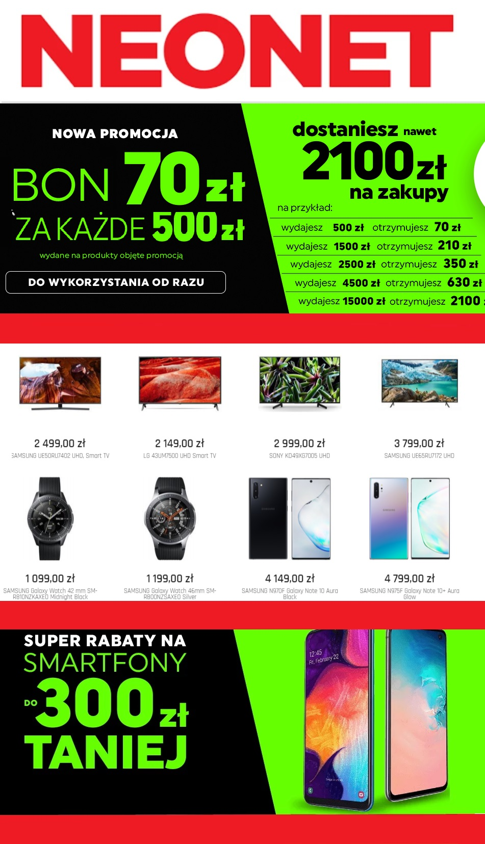 Gazetka promocyjna Neonet - 20.09-26.09.2019