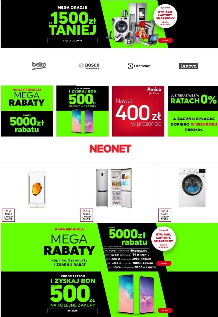 Gazetka promocyjna Neonet - 27.10-03.11.2019