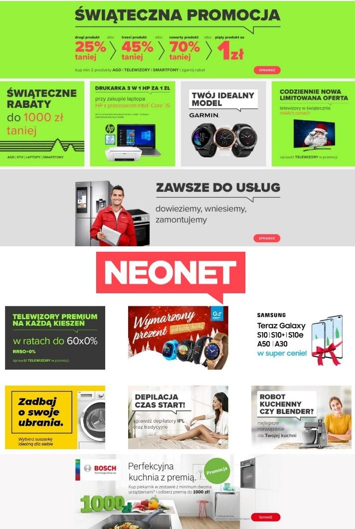 Gazetka promocyjna Neonet Gazetka Świąteczna 2019 - 20.12-27.12.2019