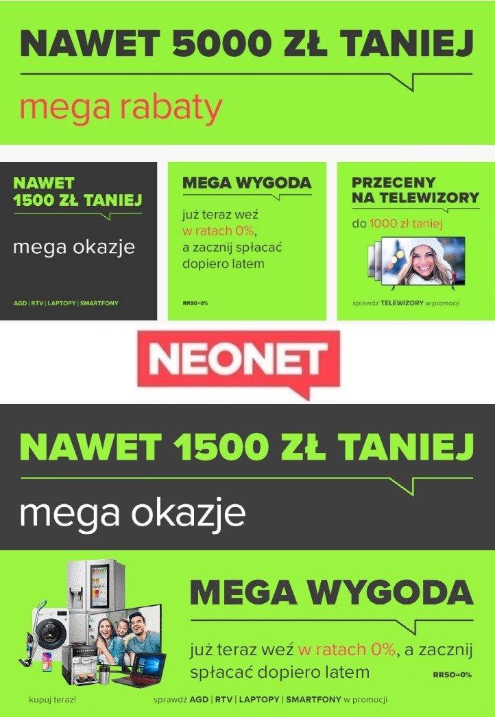 Gazetka promocyjna Neonet - 17.01-24.01.2020