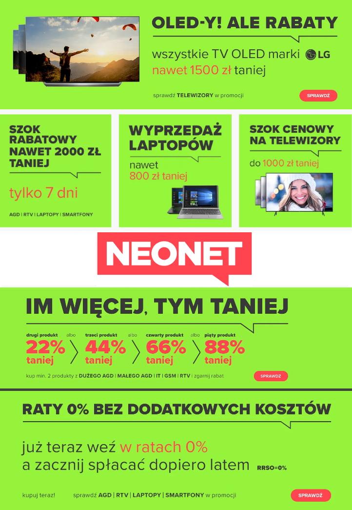Gazetka promocyjna Neonet - 03.02-10.02.2020