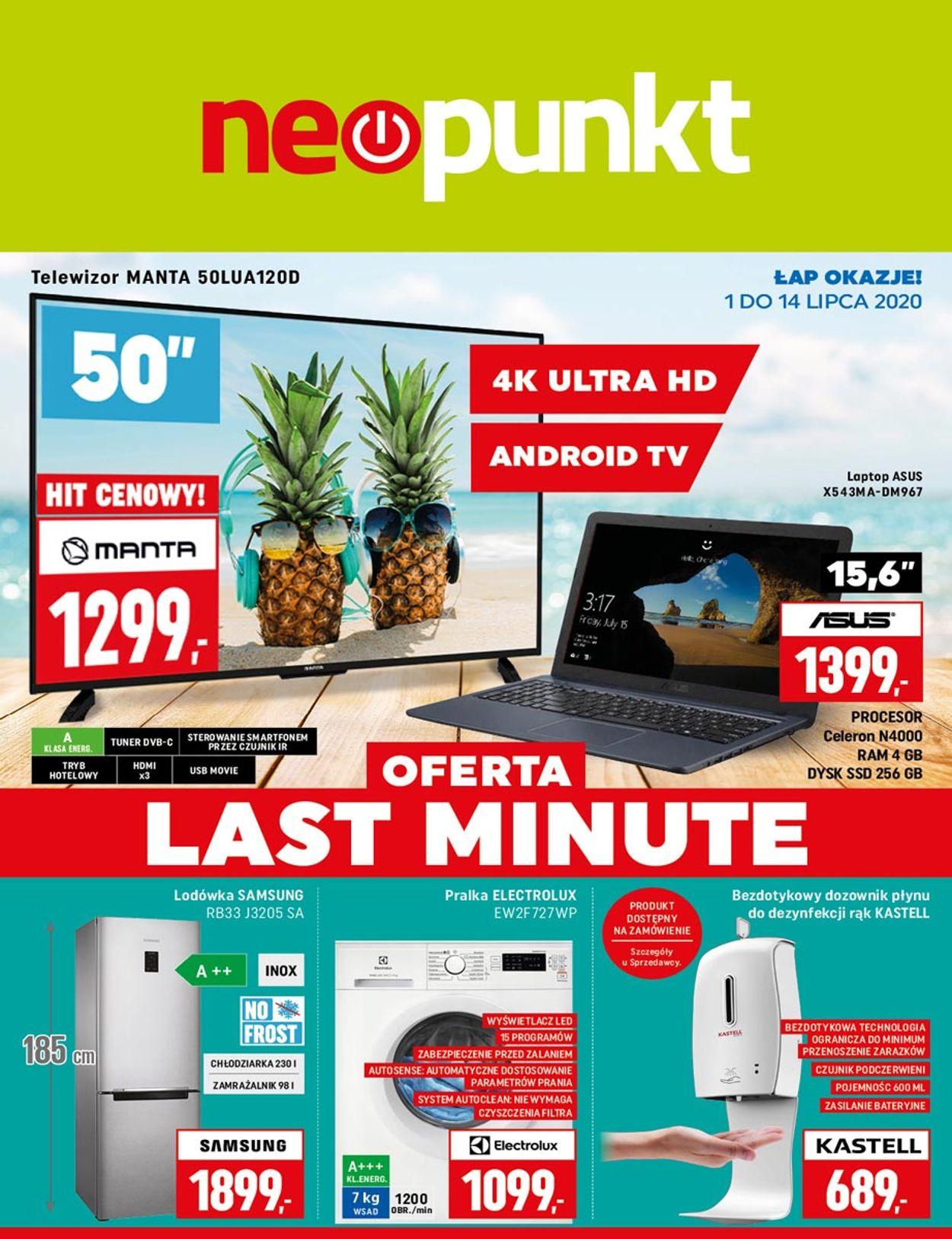 Gazetka promocyjna Neopunkt - 01.07-14.07.2020
