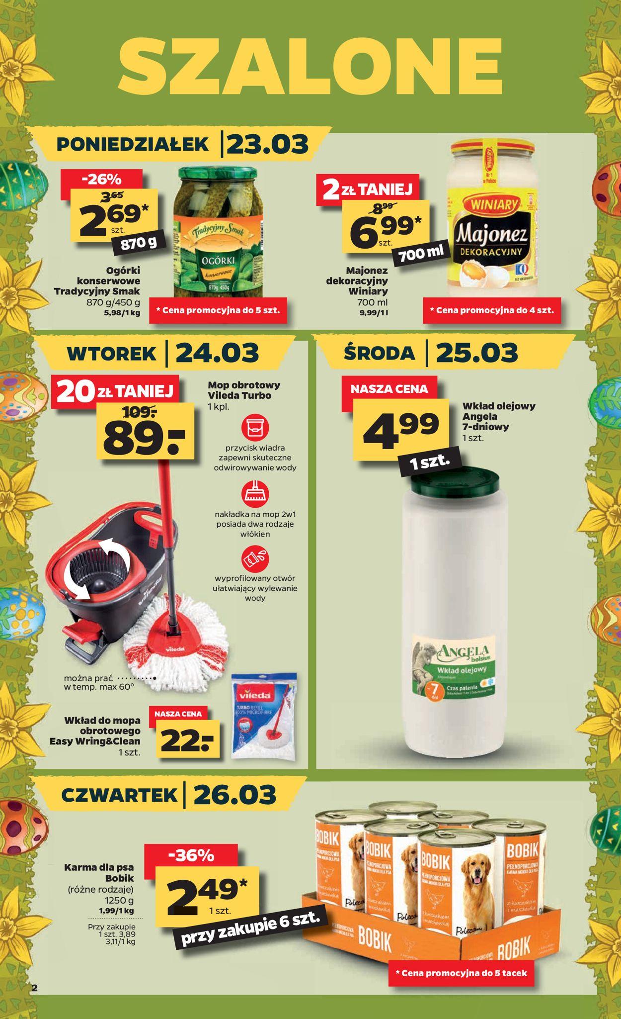 Gazetka promocyjna Netto - 23.03-28.03.2020 (Strona 2)