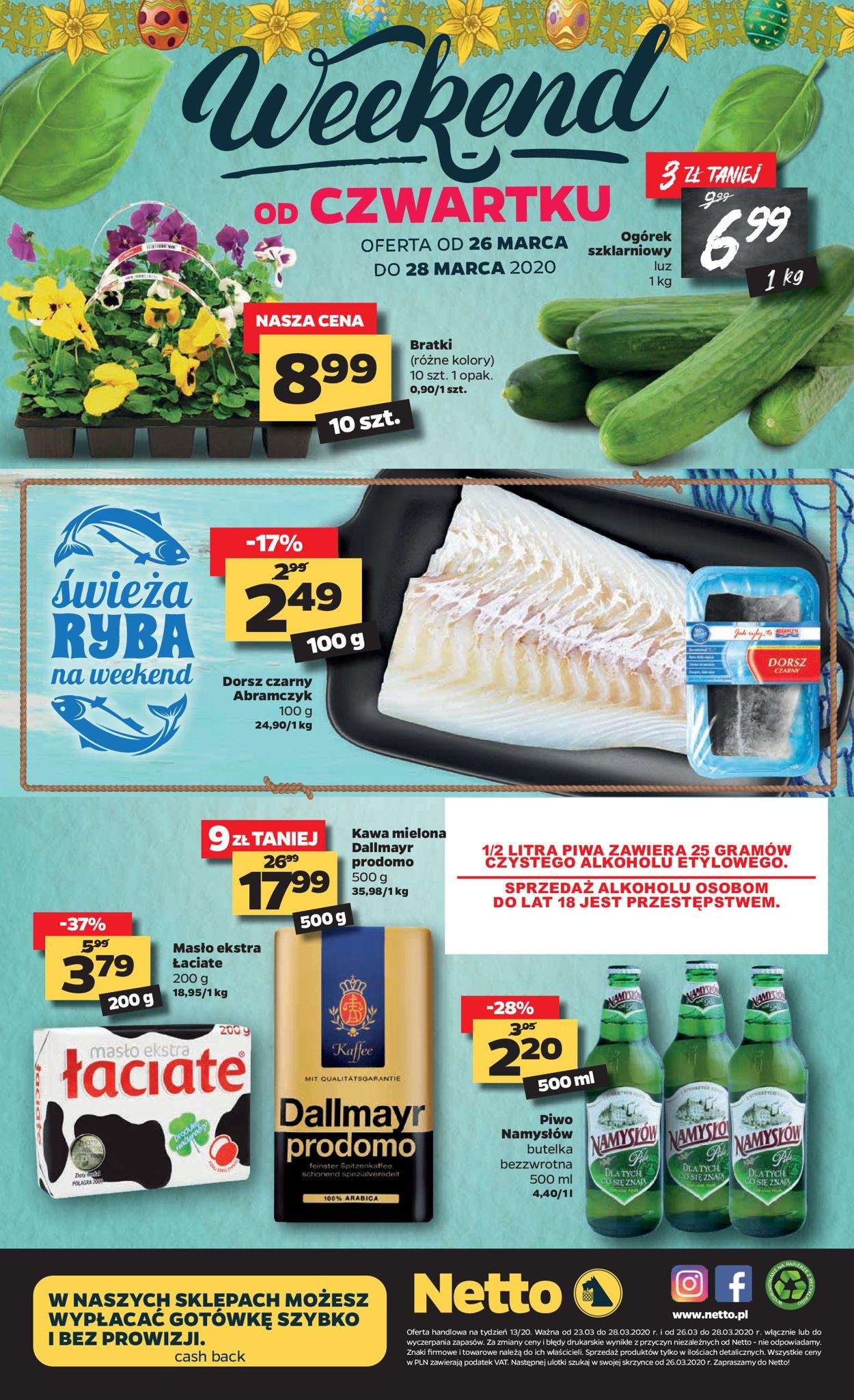 Gazetka promocyjna Netto - 23.03-28.03.2020 (Strona 20)