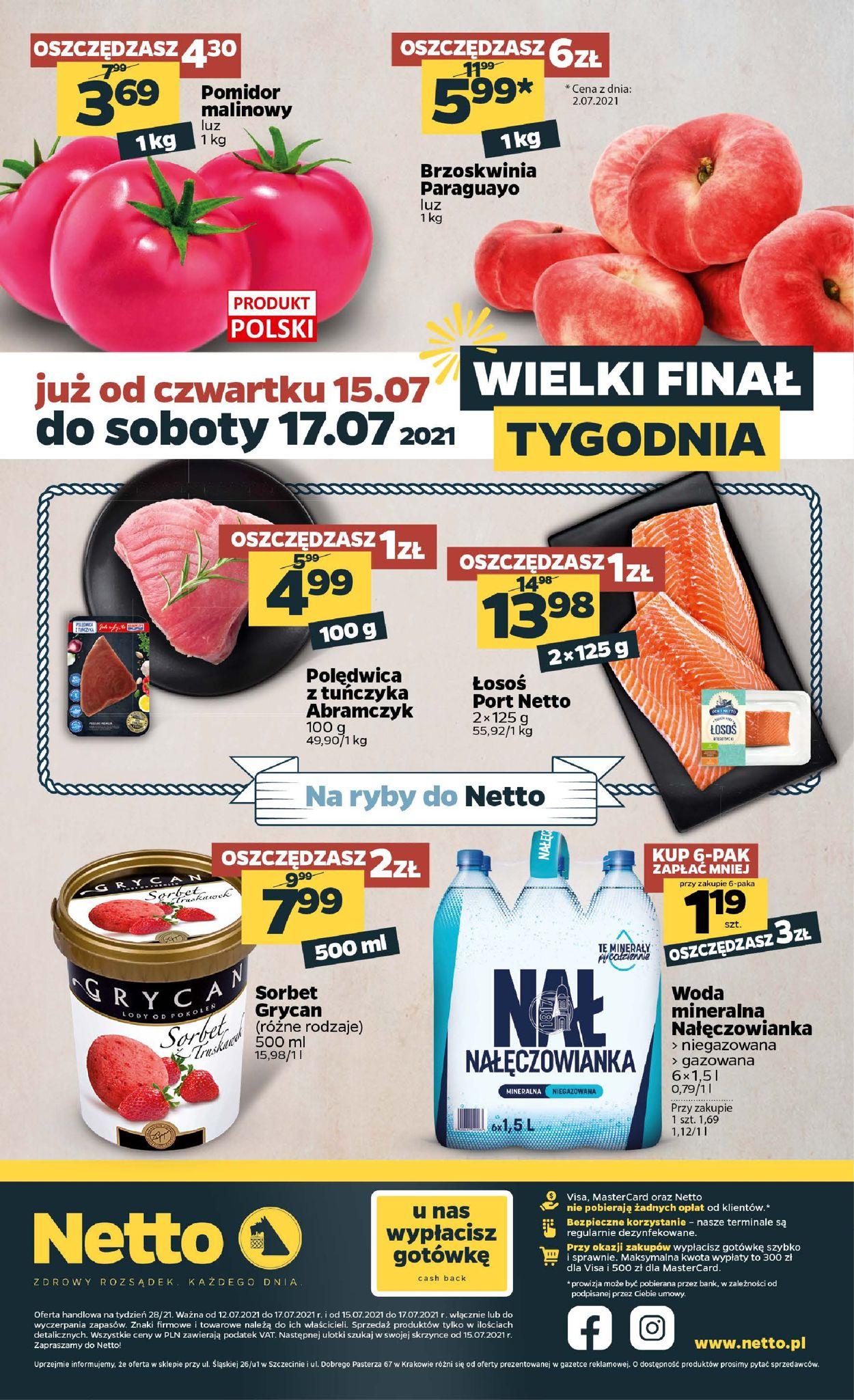 Gazetka promocyjna Netto - 12.07-17.07.2021 (Strona 20)