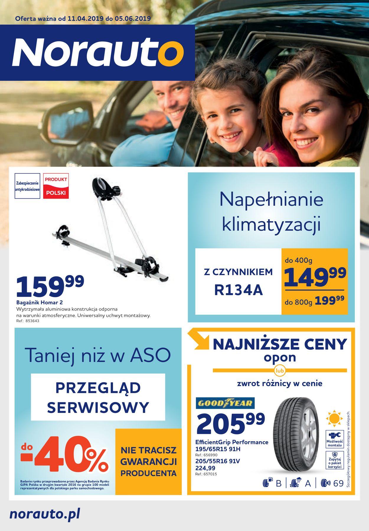 Gazetka promocyjna Norauto - 11.04-05.06.2019