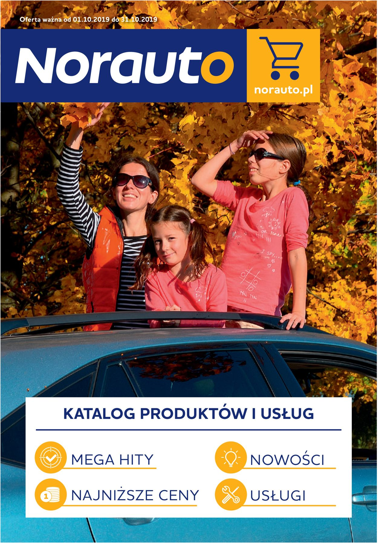 Gazetka promocyjna Norauto - 01.10-31.10.2019