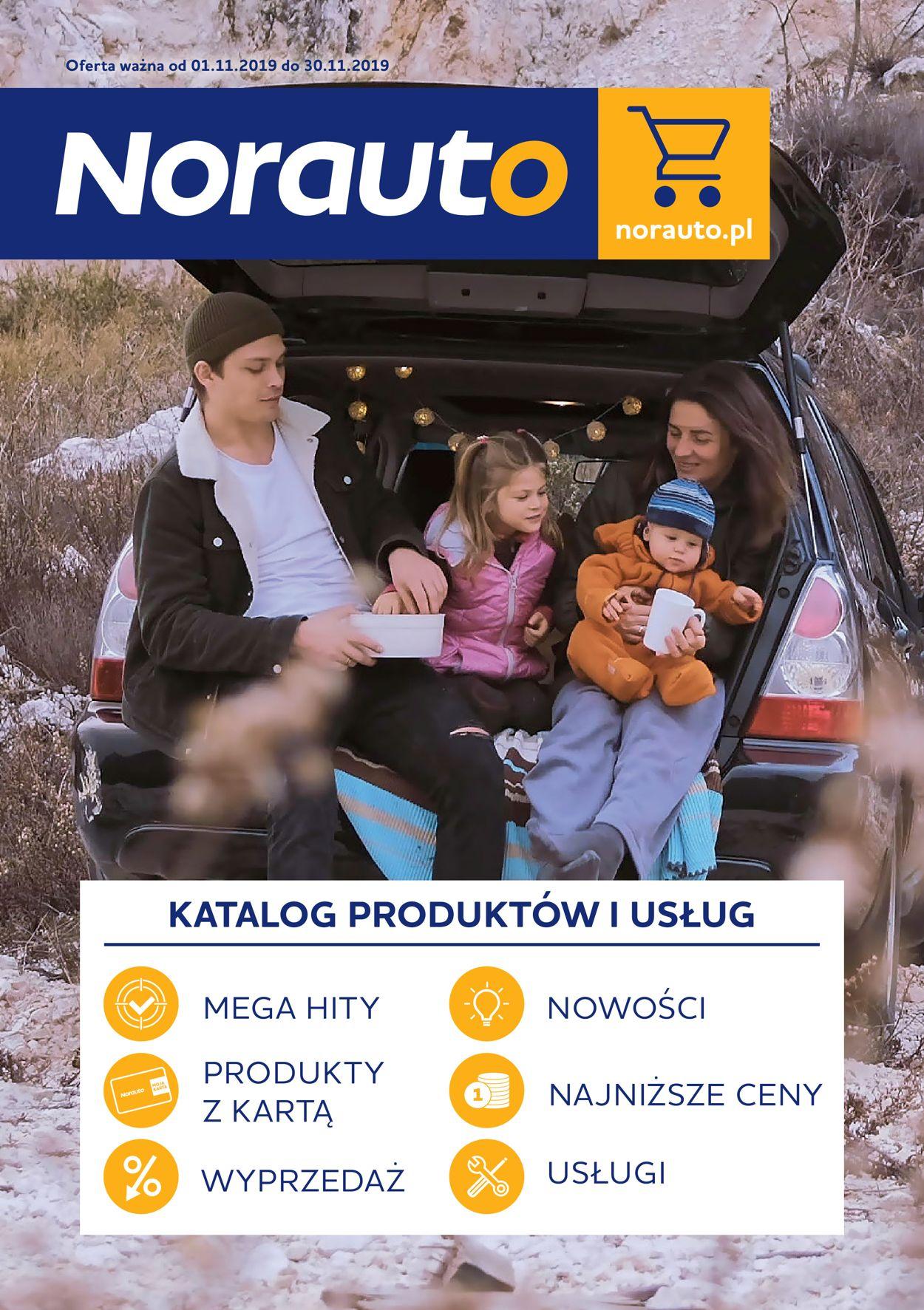 Gazetka promocyjna Norauto - 01.11-30.11.2019