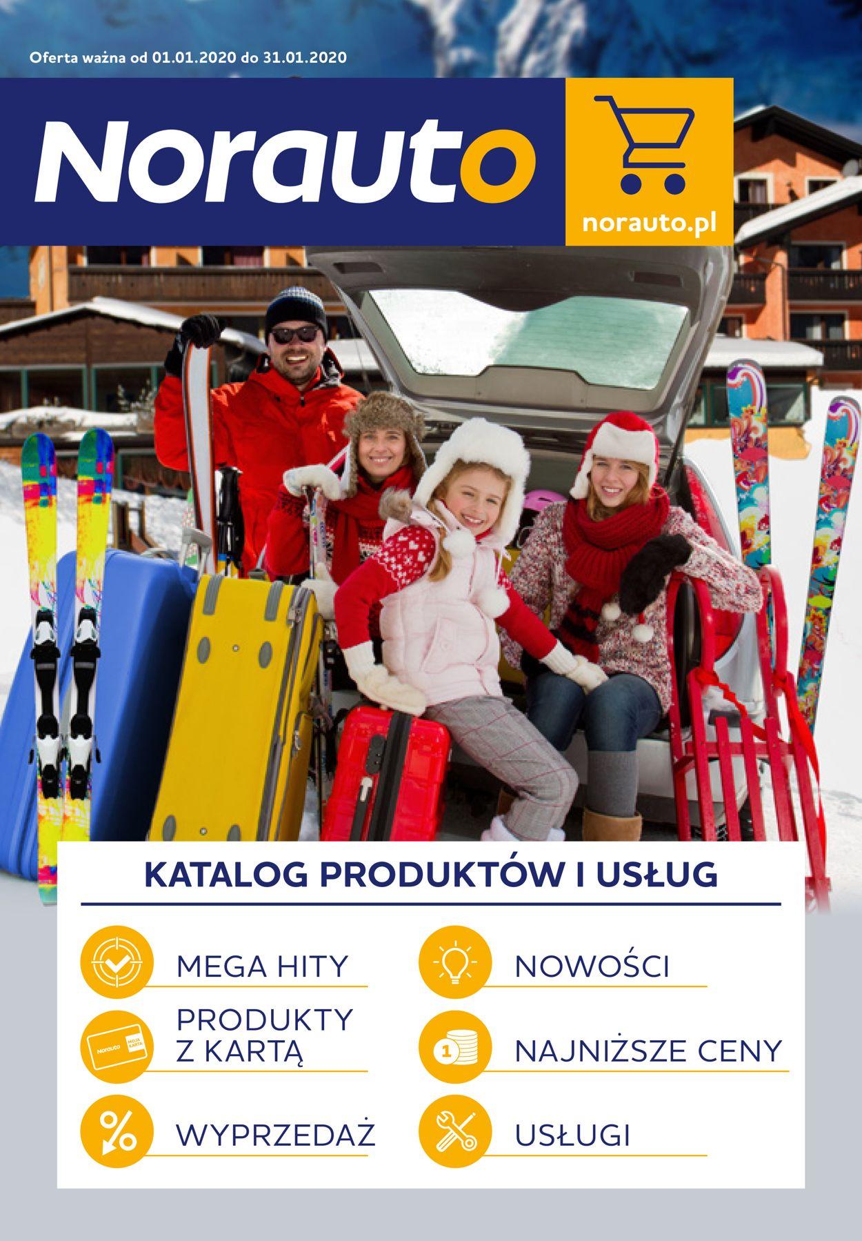 Gazetka promocyjna Norauto - 01.01-31.01.2020