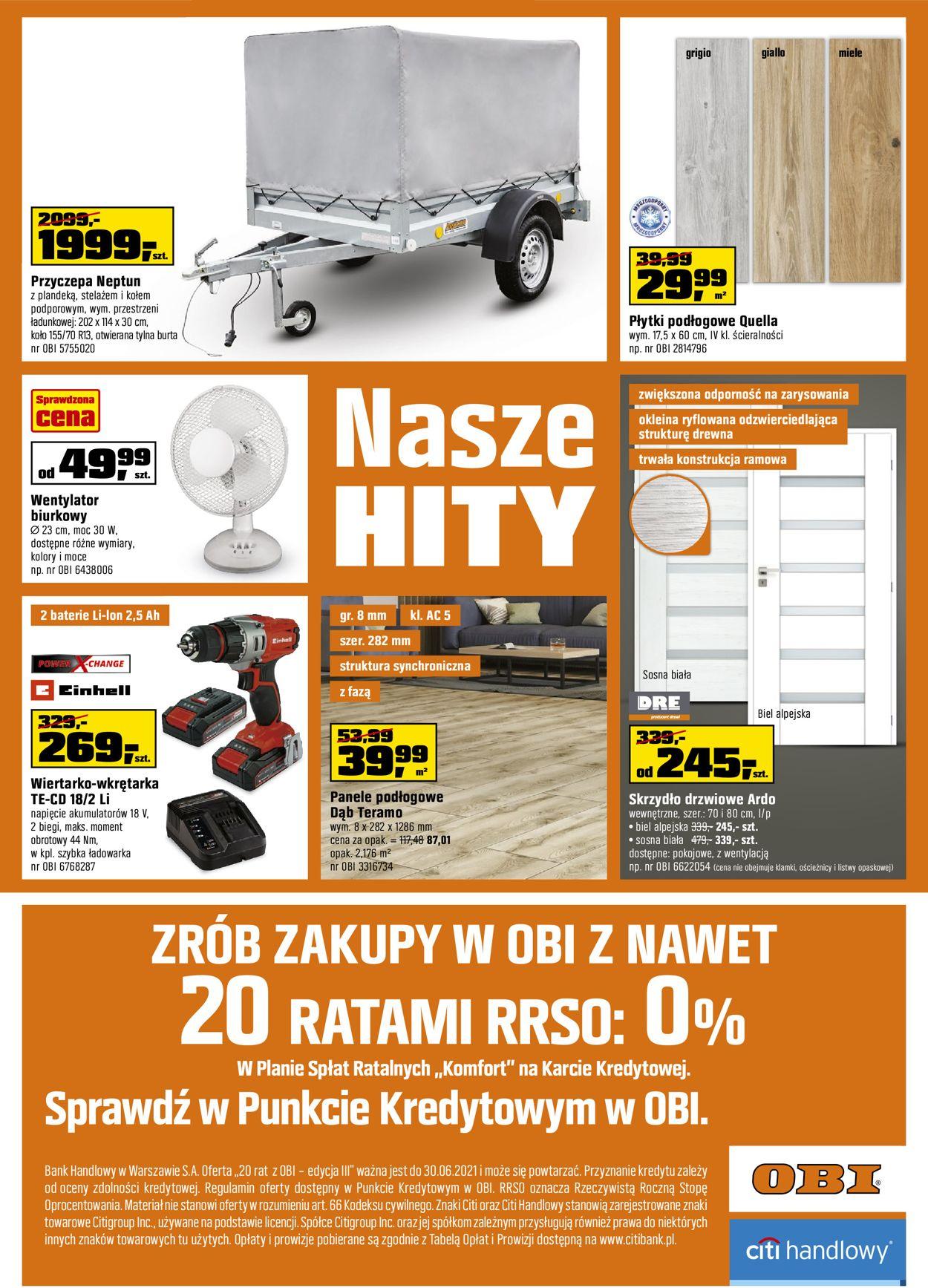 Gazetka promocyjna Obi - 11.05-24.05.2021 (Strona 20)