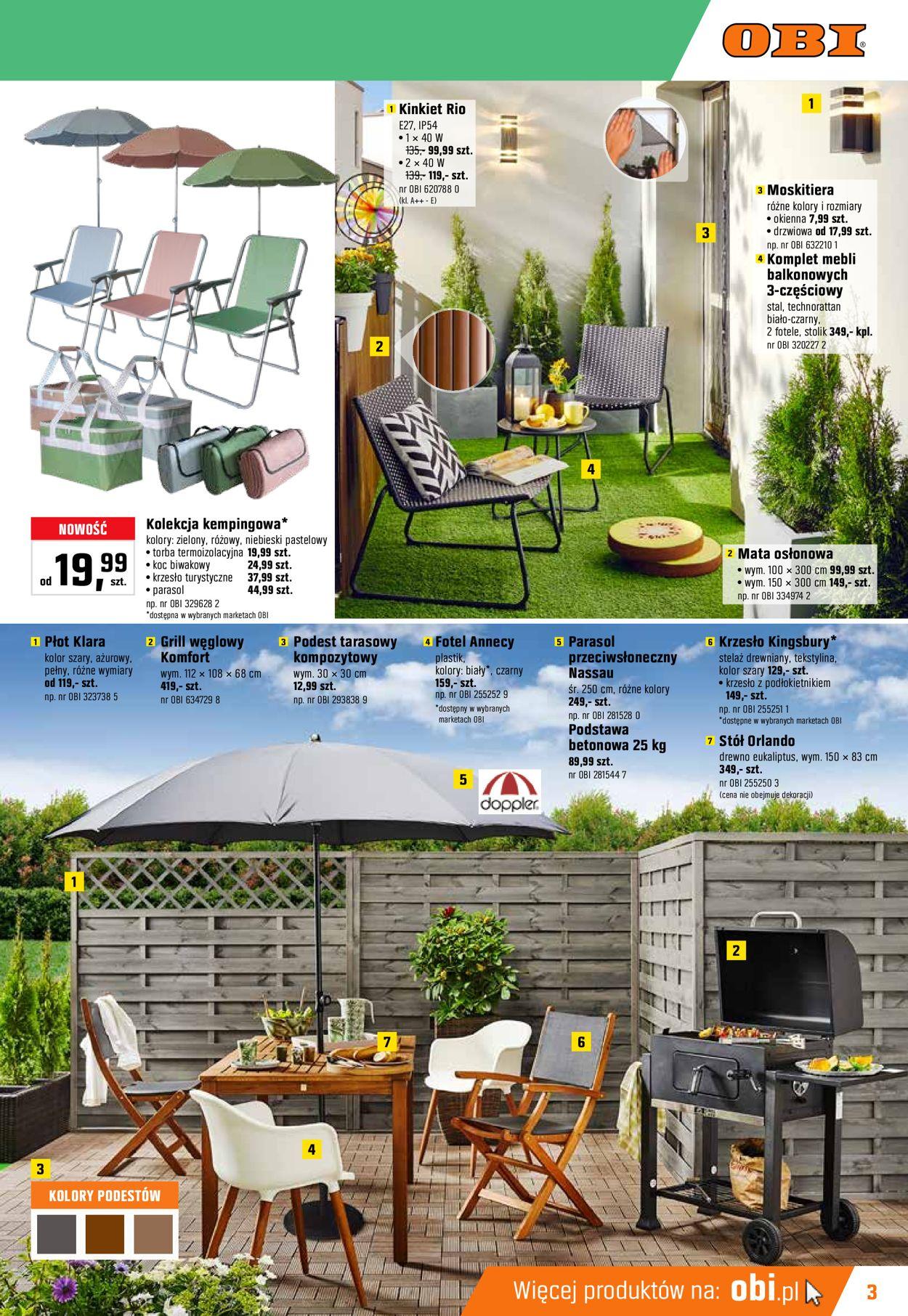 Gazetka promocyjna Obi - 22.05-18.06.2019 (Strona 3)