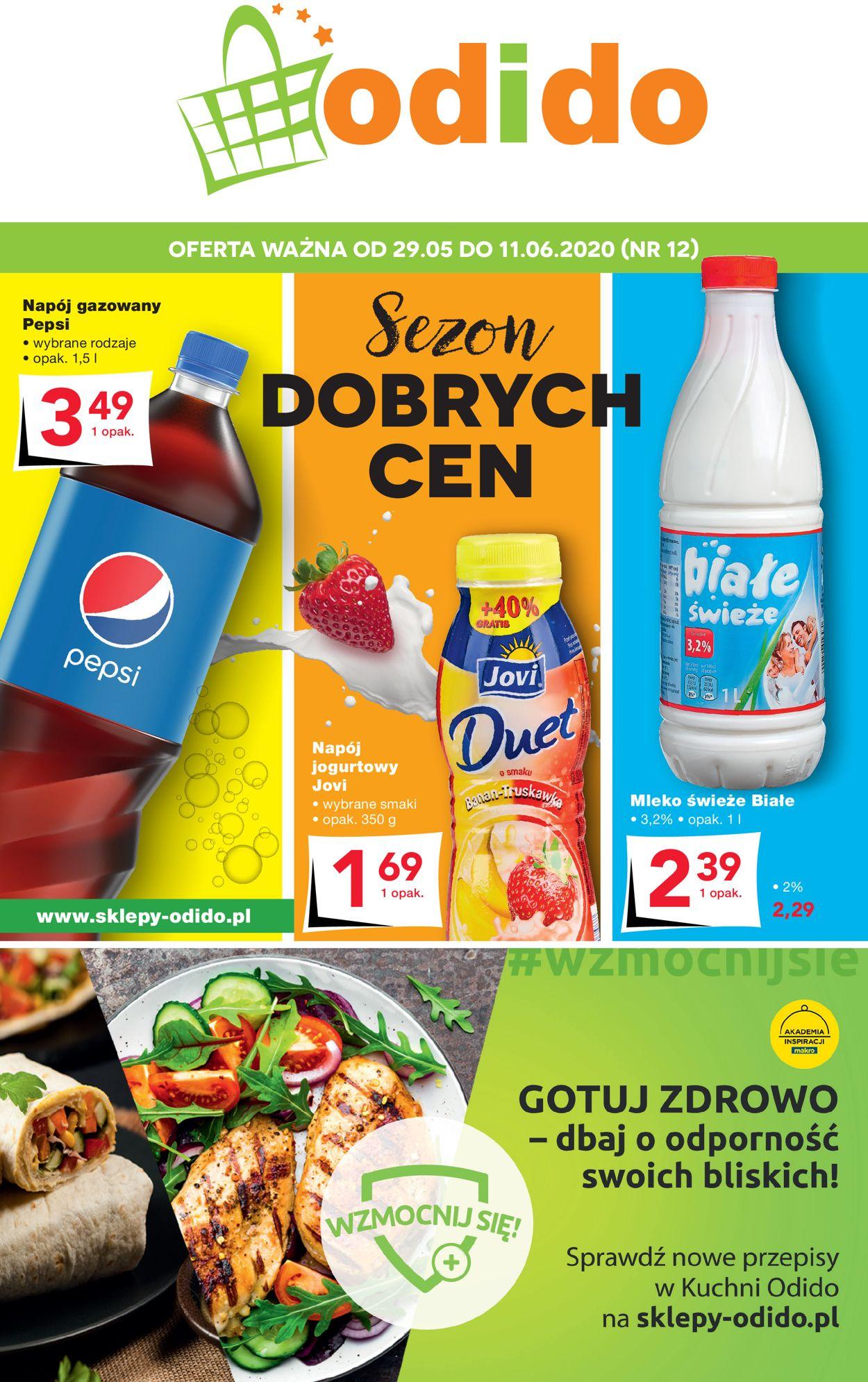 Gazetka promocyjna Odido - 29.05-11.06.2020