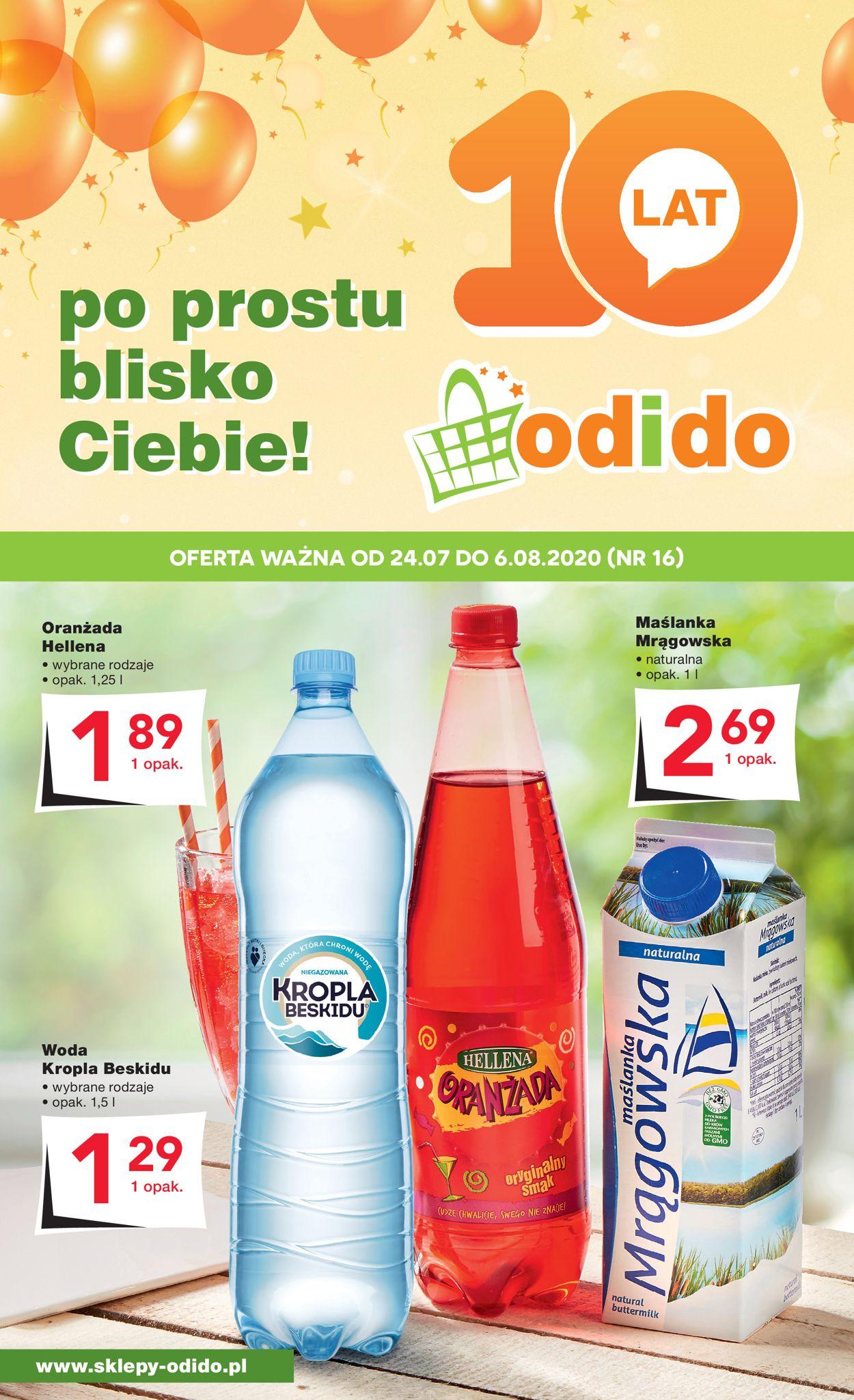 Gazetka promocyjna Odido - 24.07-06.08.2020