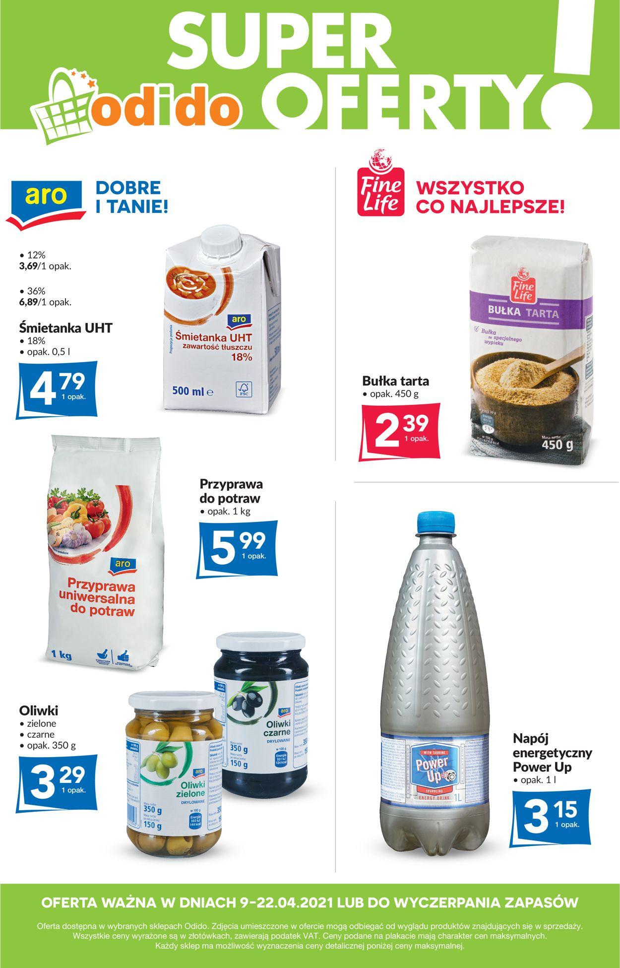 Gazetka promocyjna Odido Super oferty! - 09.04-22.04.2021