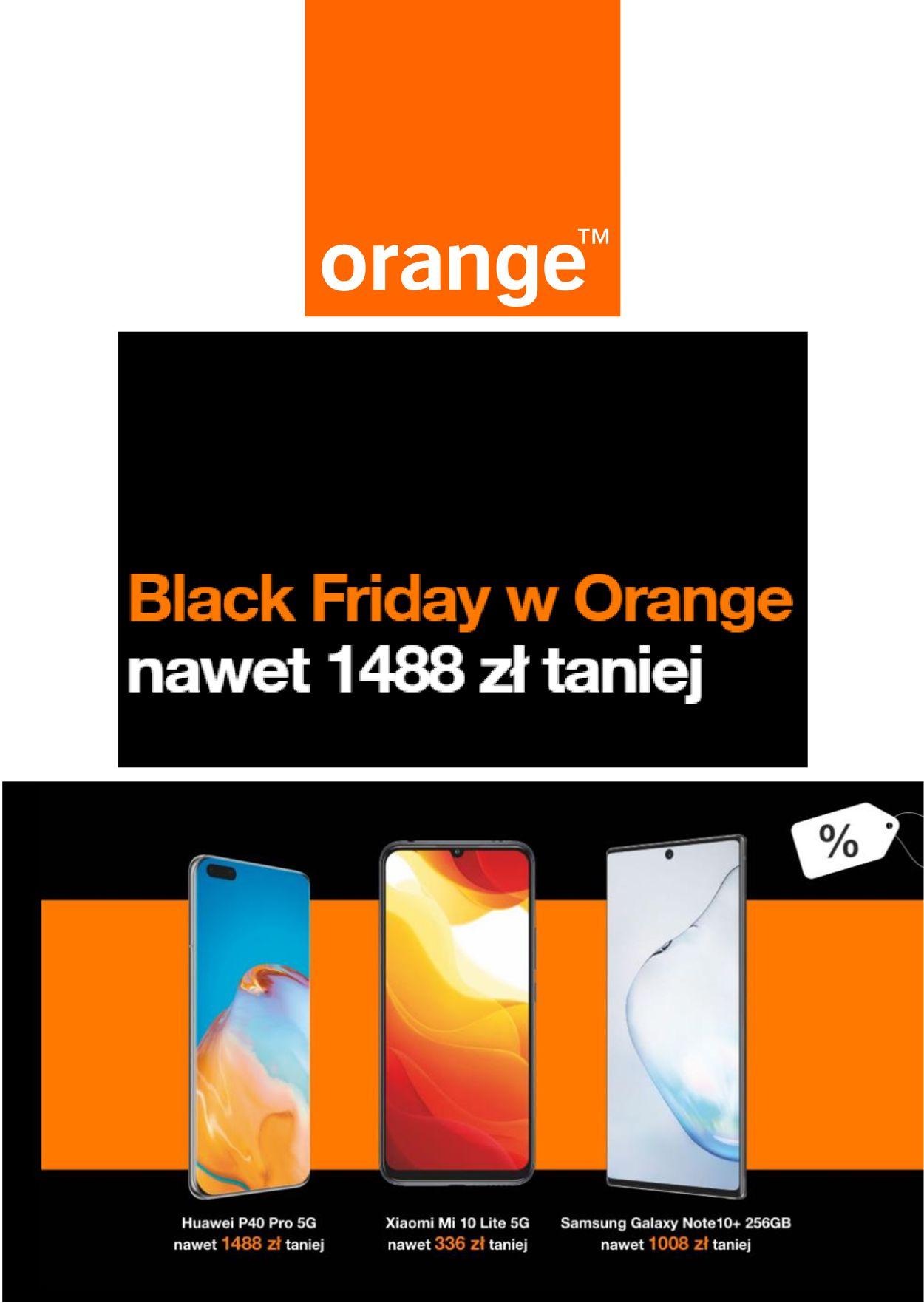 Gazetka promocyjna Orange Black Friday 2020 - 26.11-02.12.2020
