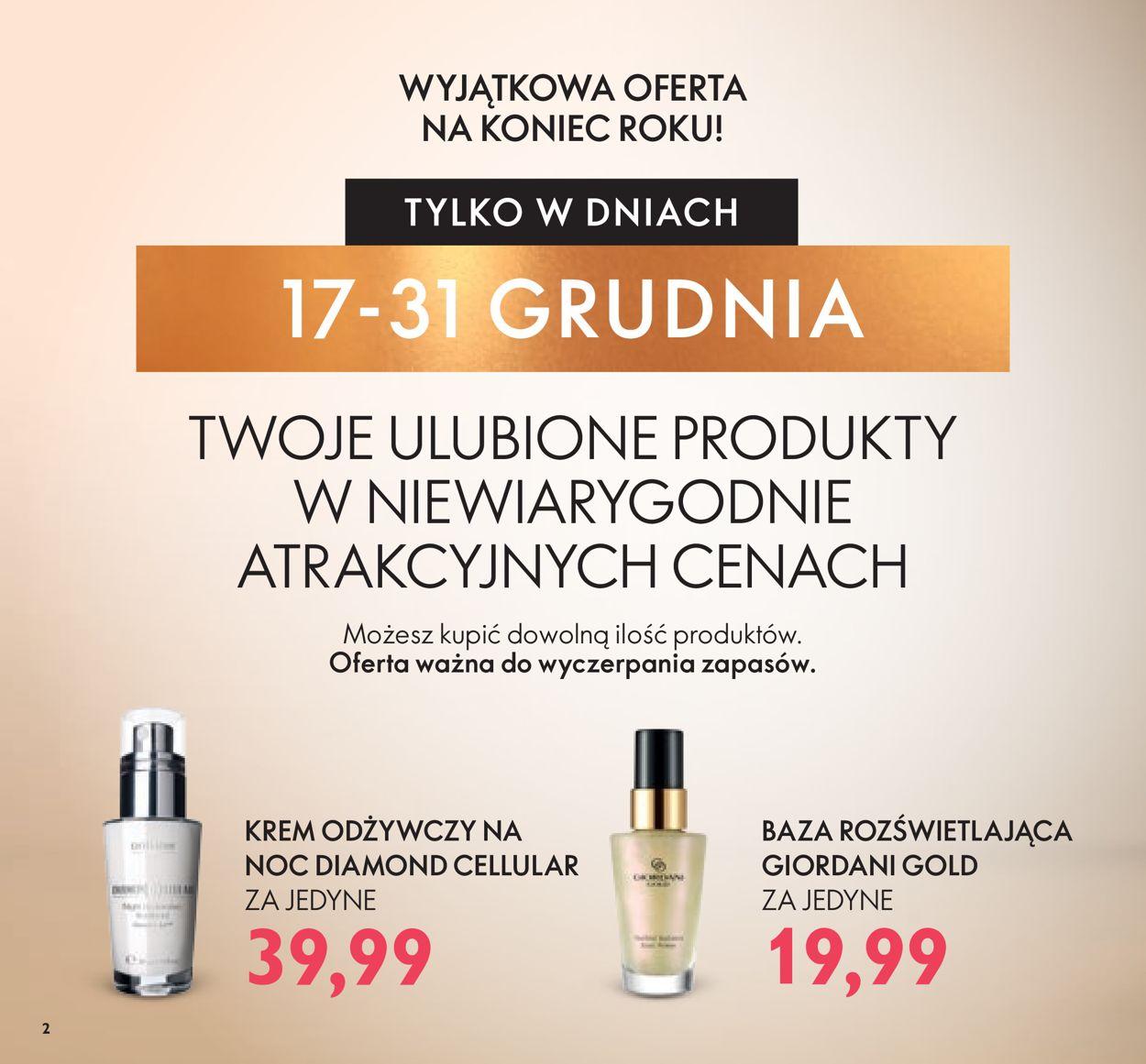 Gazetka promocyjna Oriflame - 17.12-13.01.2020