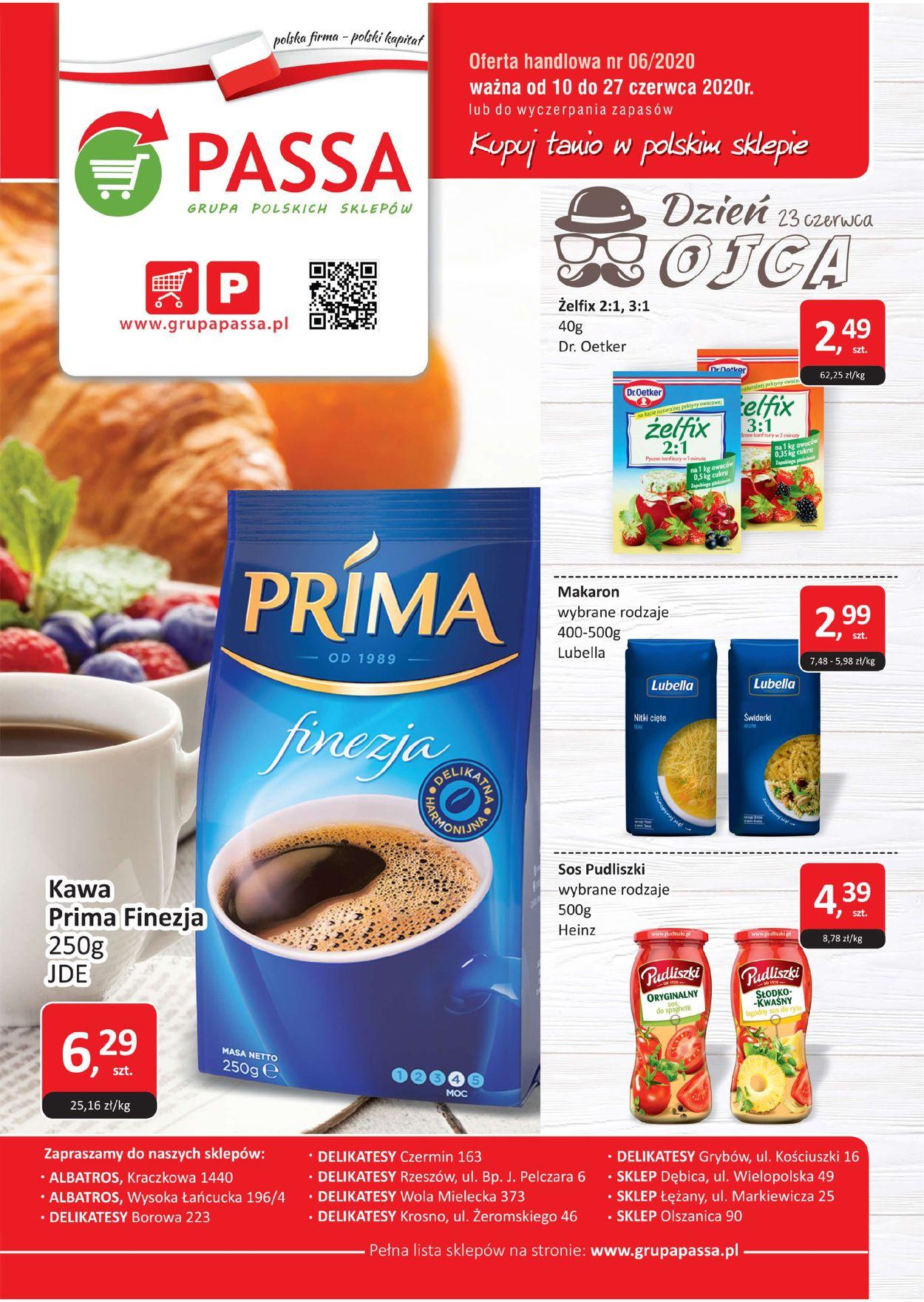 Gazetka promocyjna Passa - 10.06-27.06.2020