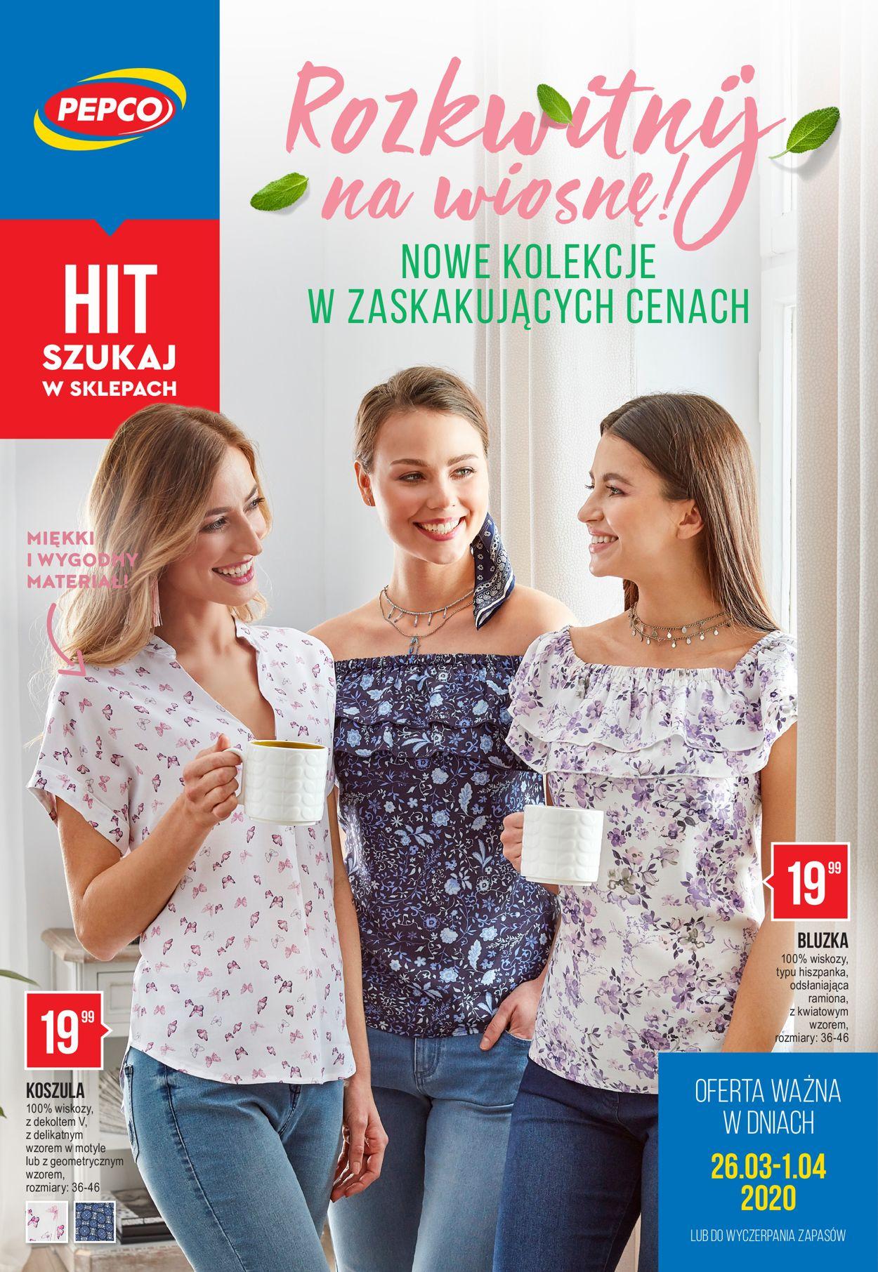 Gazetka promocyjna Pepco - 26.03-08.04.2020
