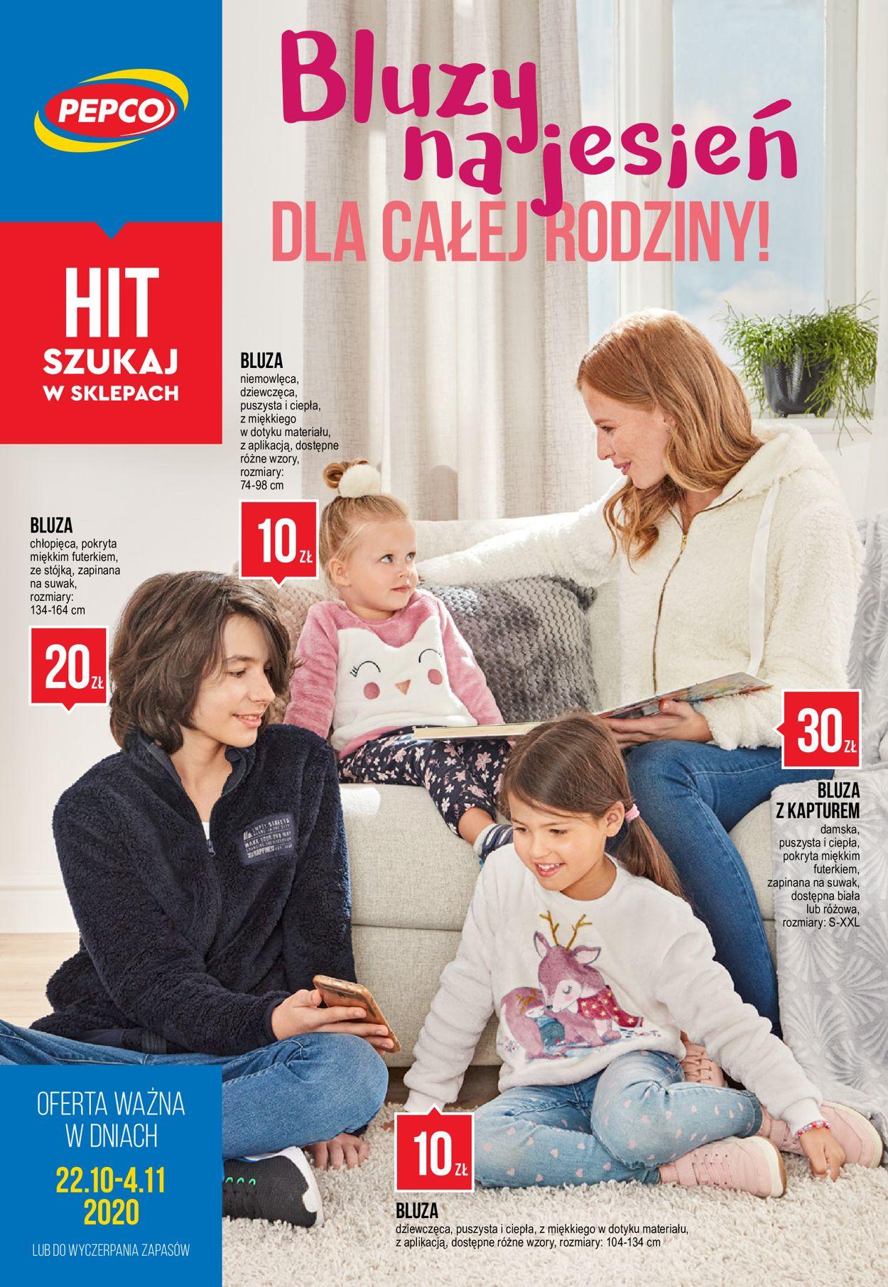 Gazetka promocyjna Pepco - 22.10-04.11.2020