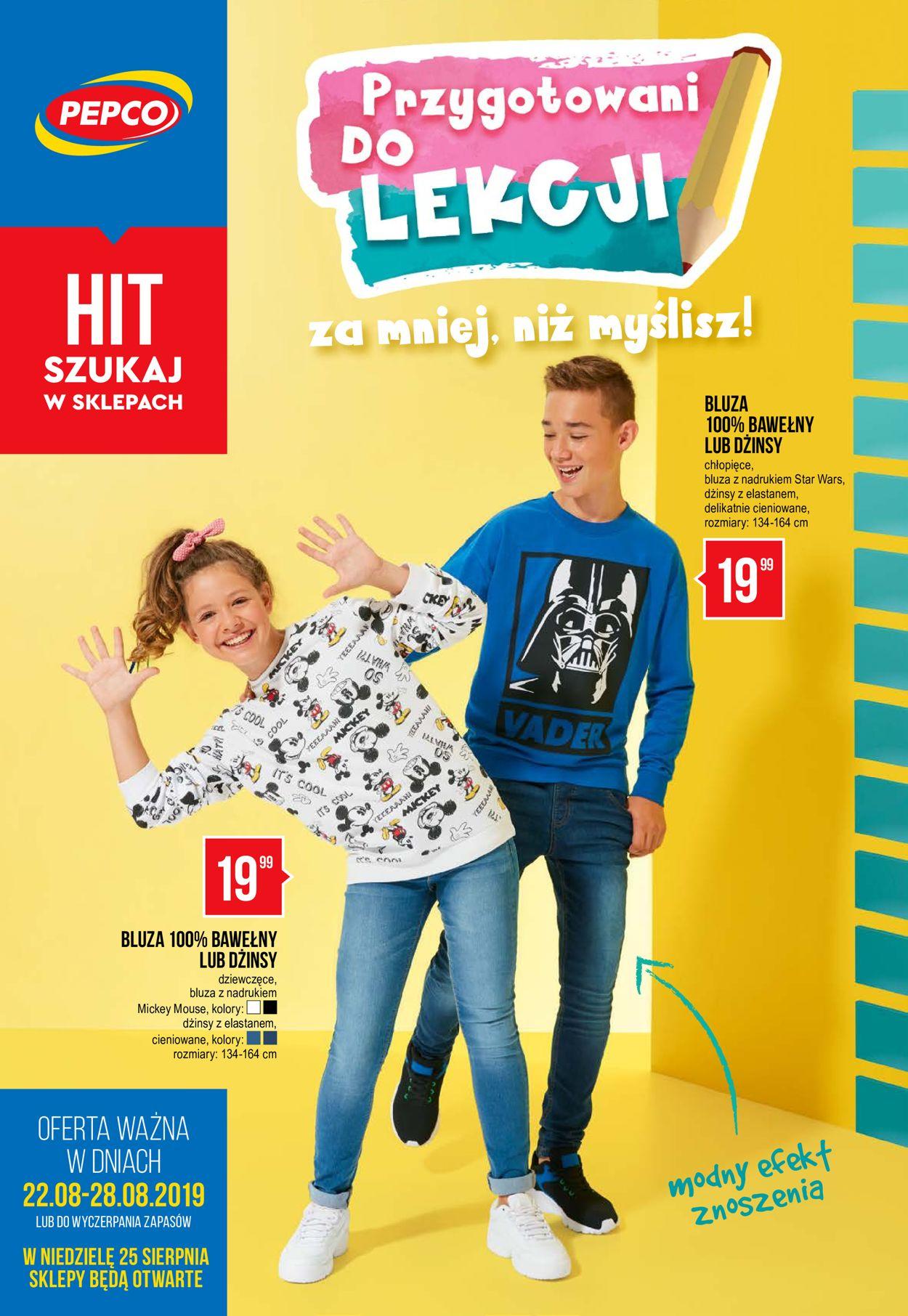 Gazetka promocyjna Pepco - 22.08-28.08.2019
