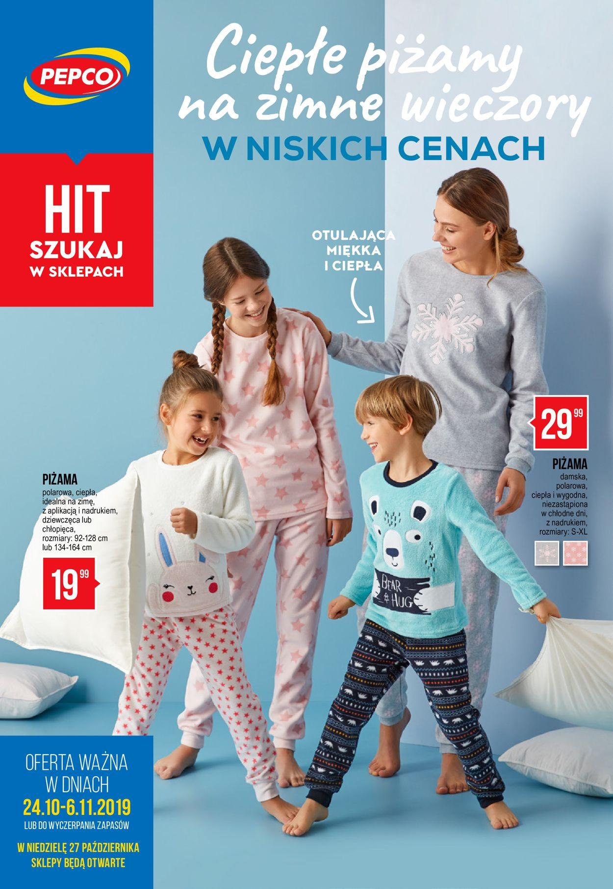 Gazetka promocyjna Pepco - 24.10-06.11.2019