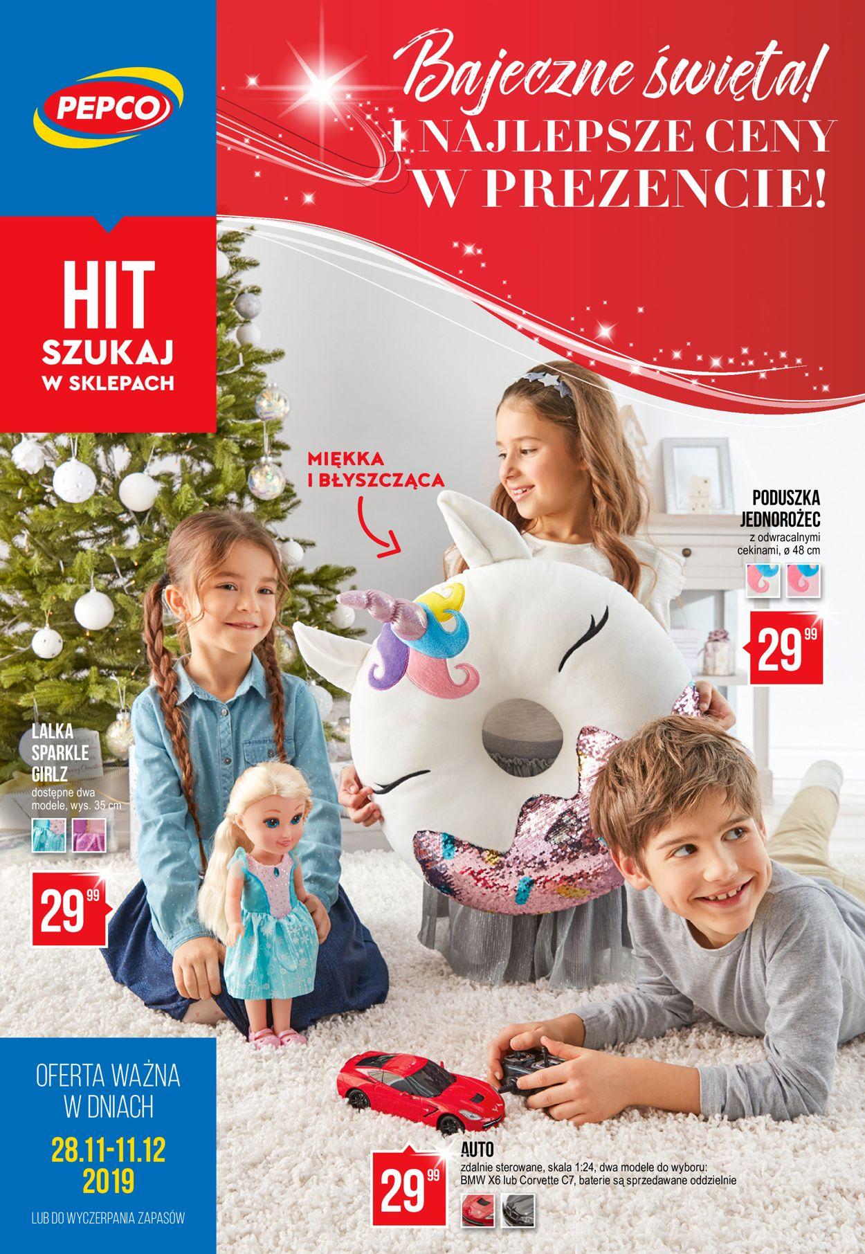 Gazetka promocyjna Pepco - Gazetka Świąteczna 2019 - 28.11-11.12.2019