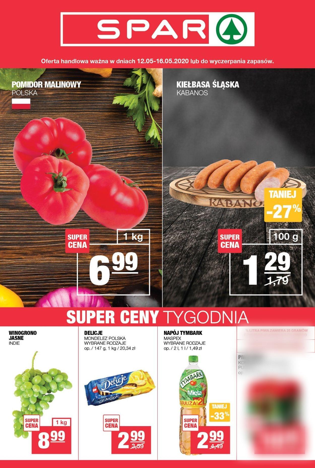 Gazetka promocyjna Piotr i Paweł - 12.05-16.05.2020