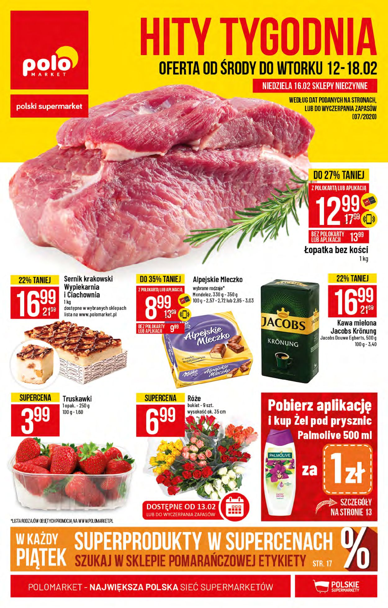 Gazetka promocyjna Polomarket - 12.02-18.02.2020