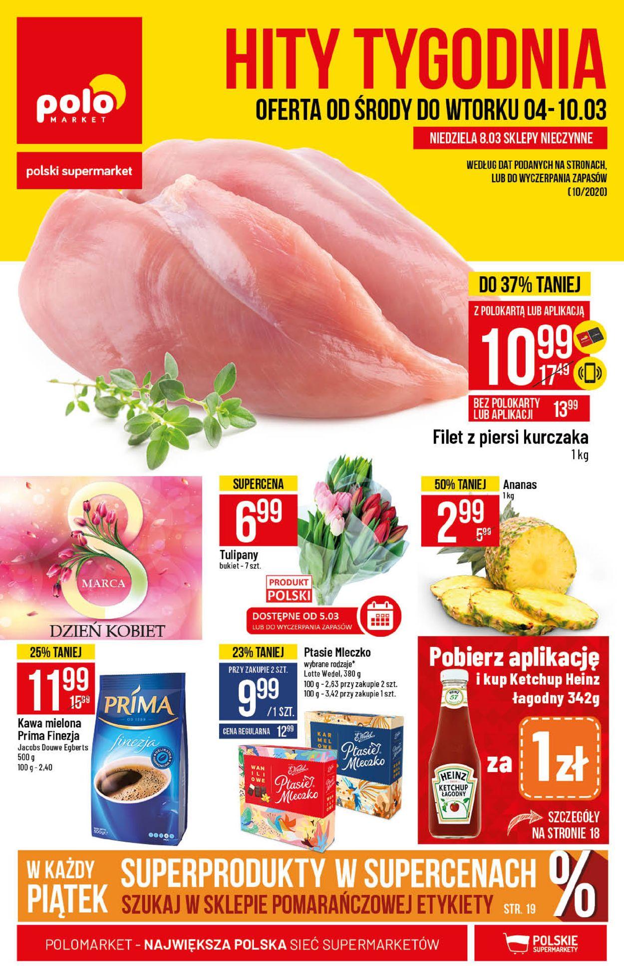 Gazetka promocyjna Polomarket - 04.03-10.03.2020