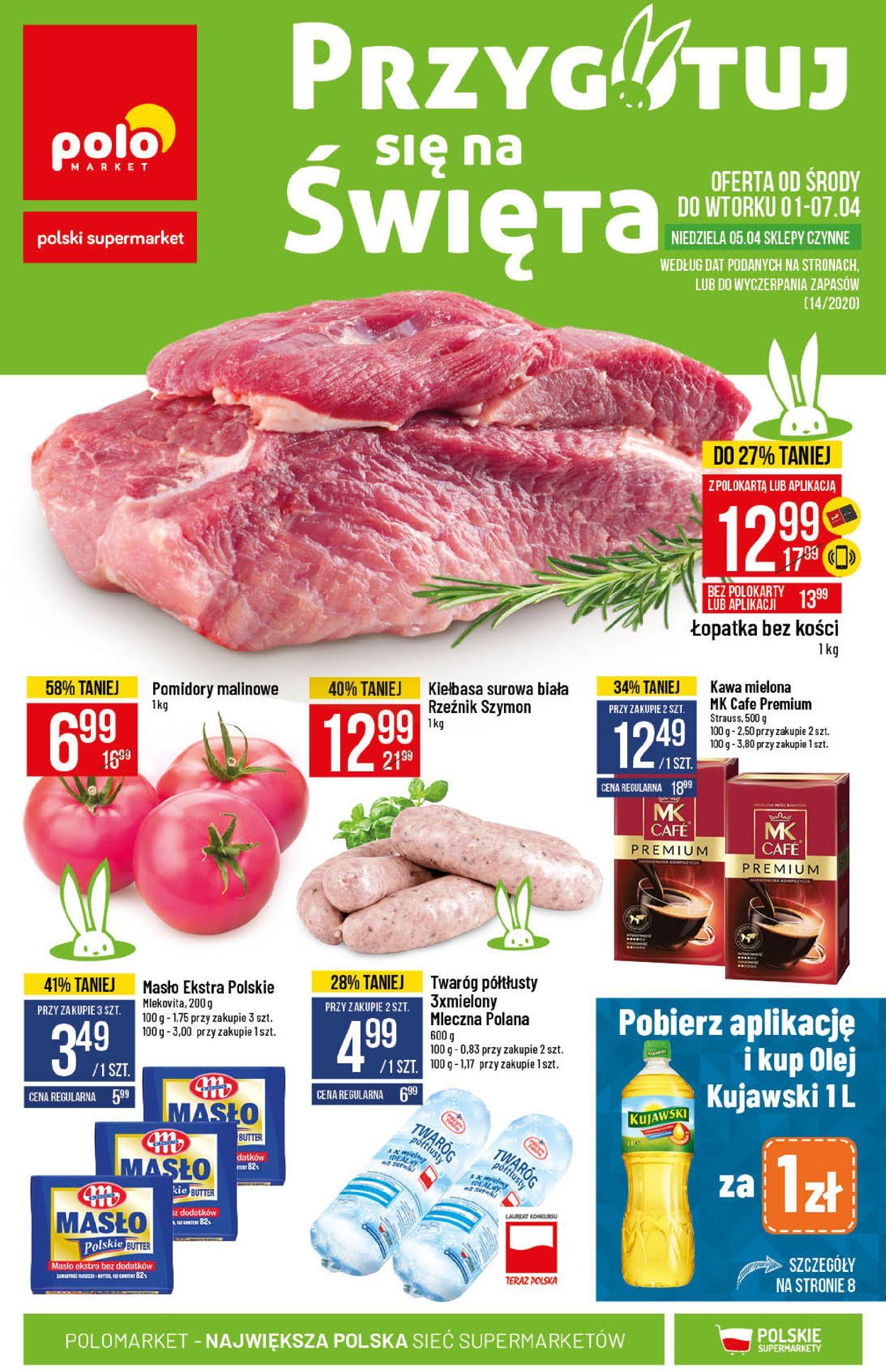 Gazetka promocyjna Polomarket - 01.04-07.04.2020