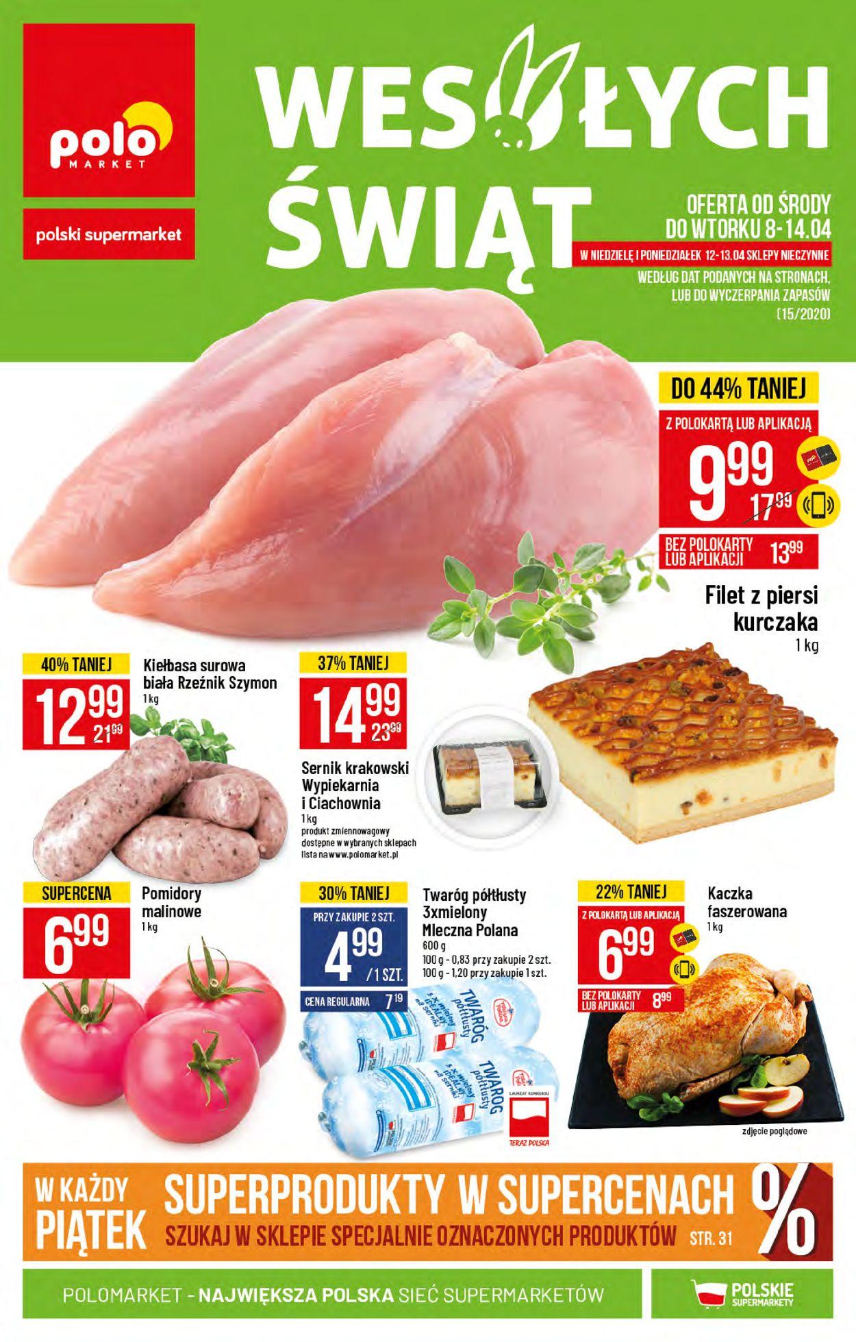Gazetka promocyjna Polomarket - 08.04-14.04.2020