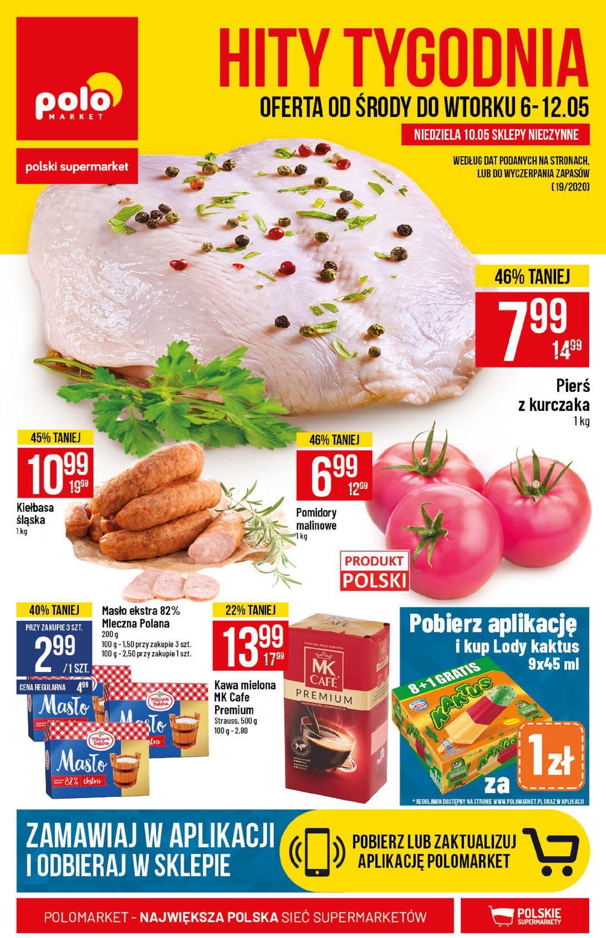 Gazetka promocyjna Polomarket - 06.05-12.05.2020