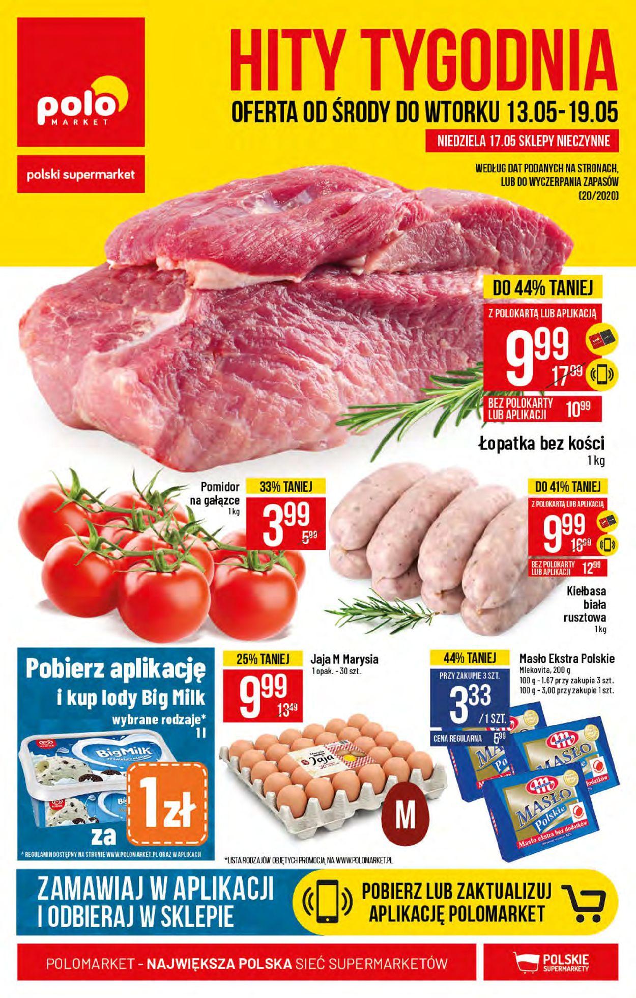 Gazetka promocyjna Polomarket - 13.05-19.05.2020