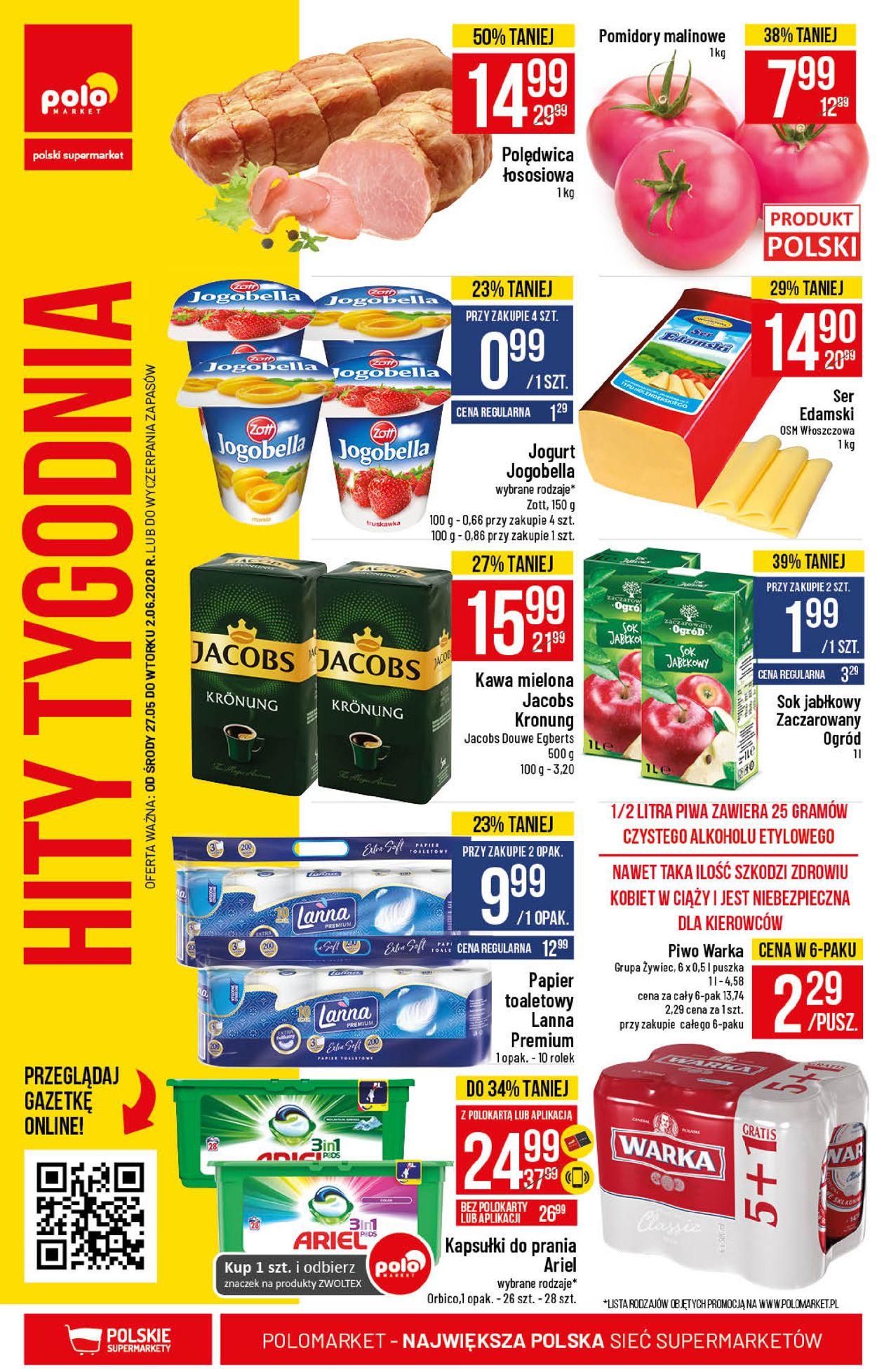 Gazetka promocyjna Polomarket - 27.05-02.06.2020 (Strona 36)