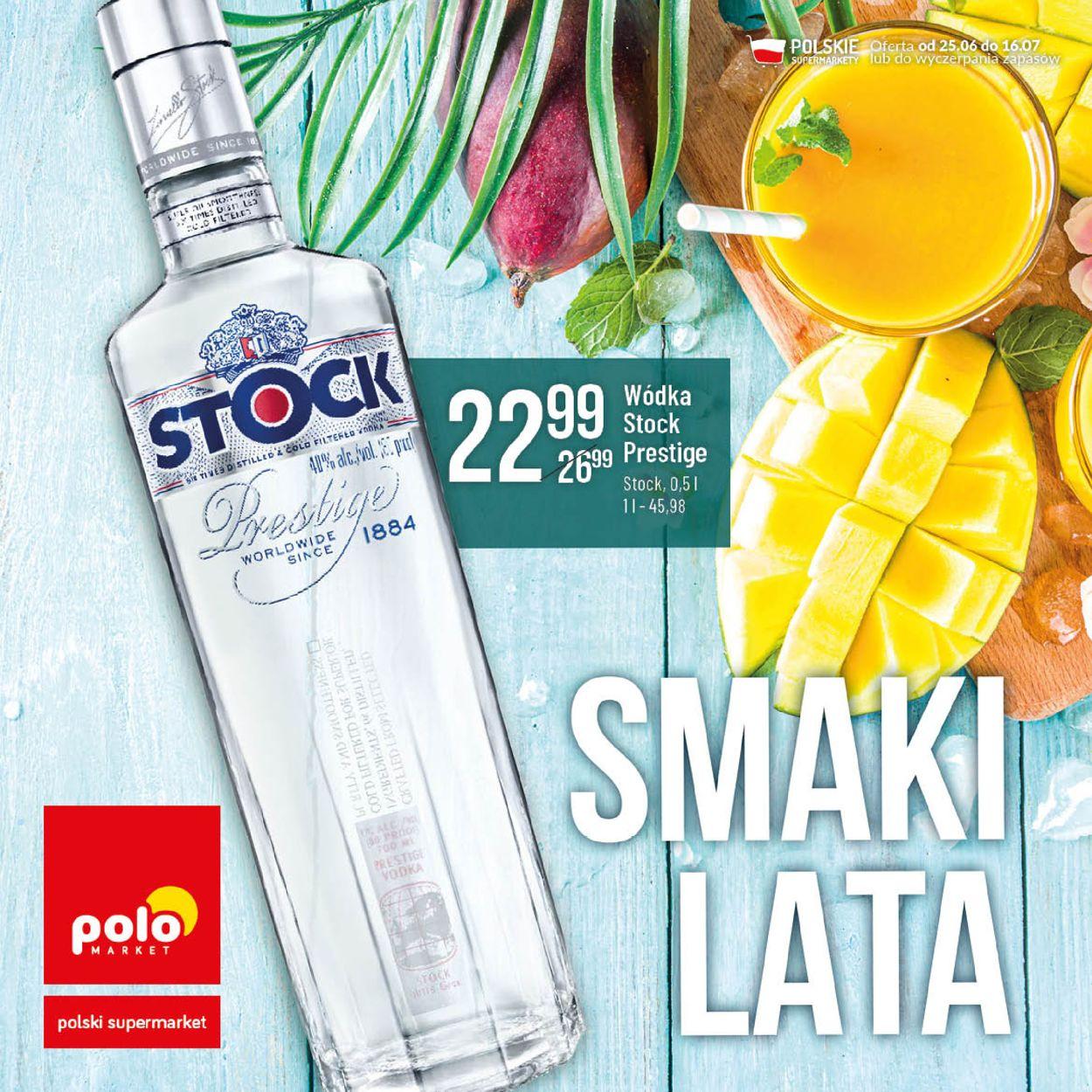 Gazetka promocyjna Polomarket - 25.06-16.07.2020