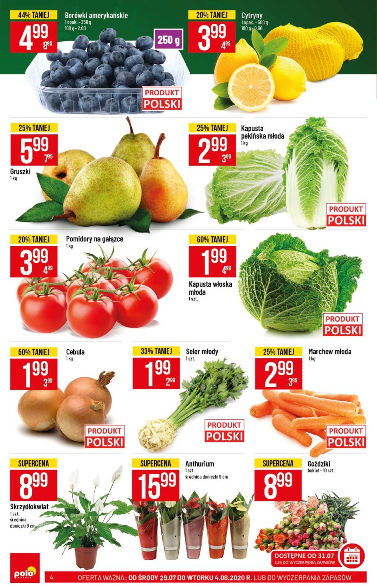 Gazetka promocyjna Polomarket - 29.07-04.08.2020 (Strona 4)